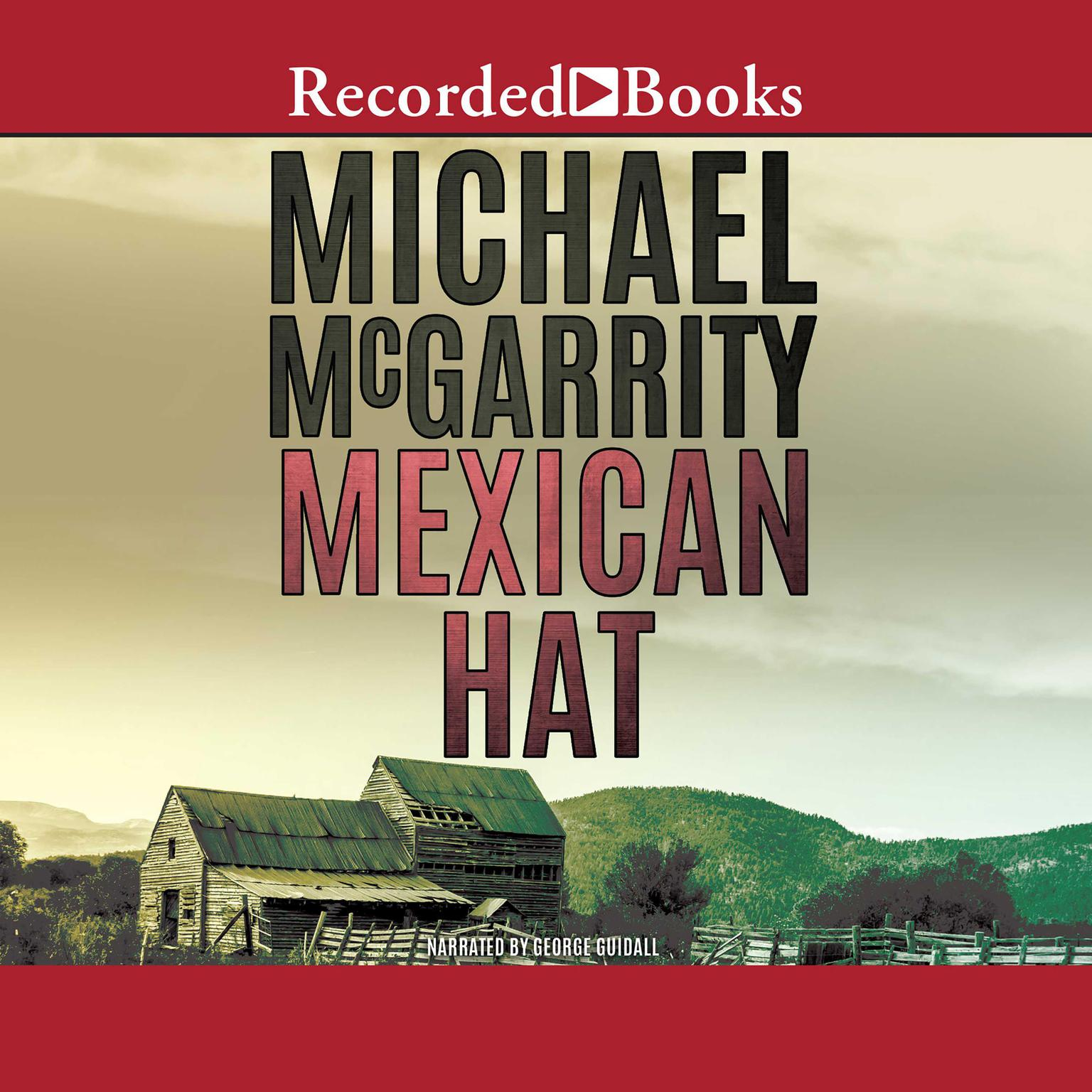 Printable Mexican Hat Audiobook Cover Art