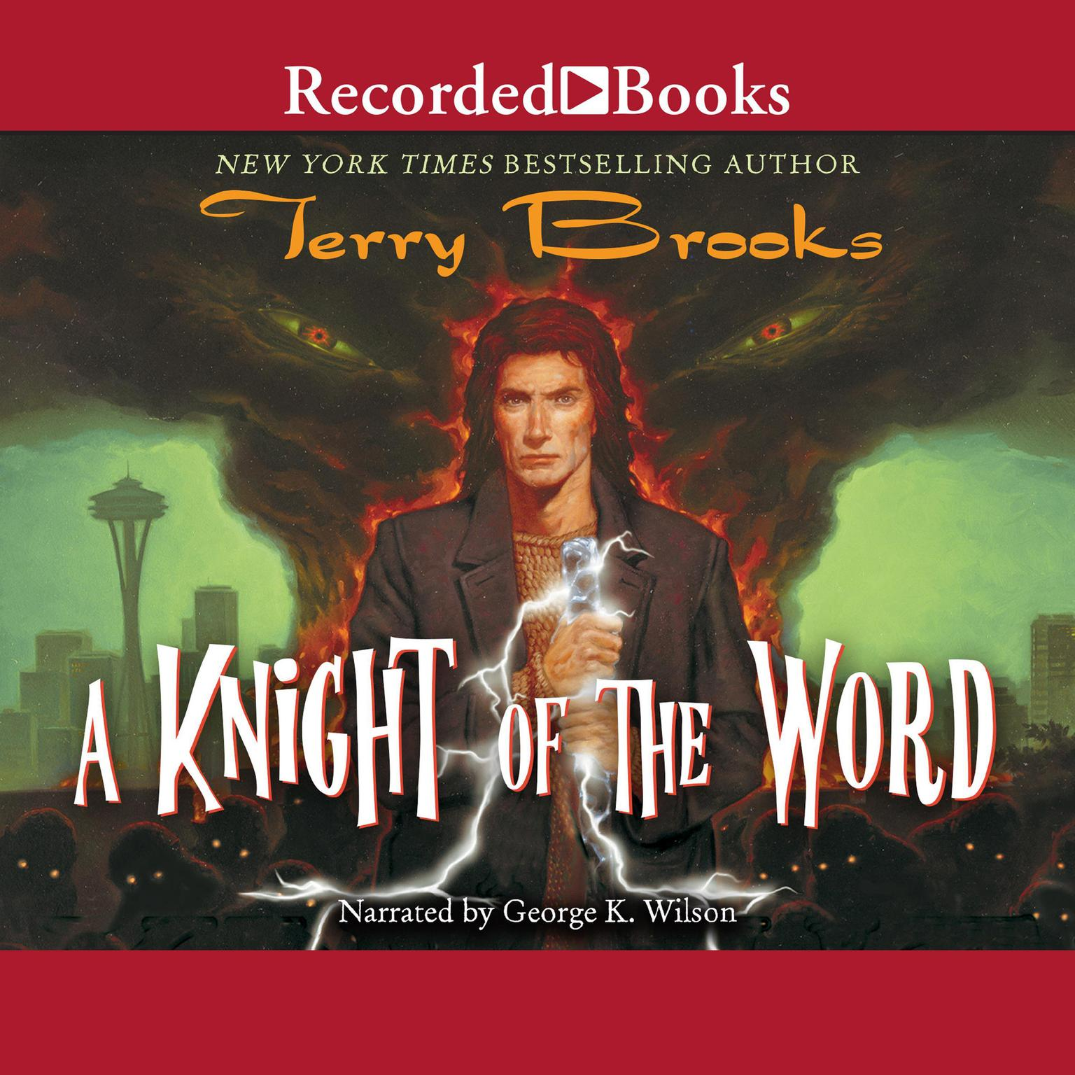 Printable A Knight of the Word Audiobook Cover Art
