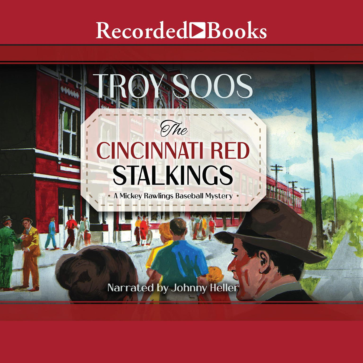 Printable The Cincinnati Red Stalkings Audiobook Cover Art