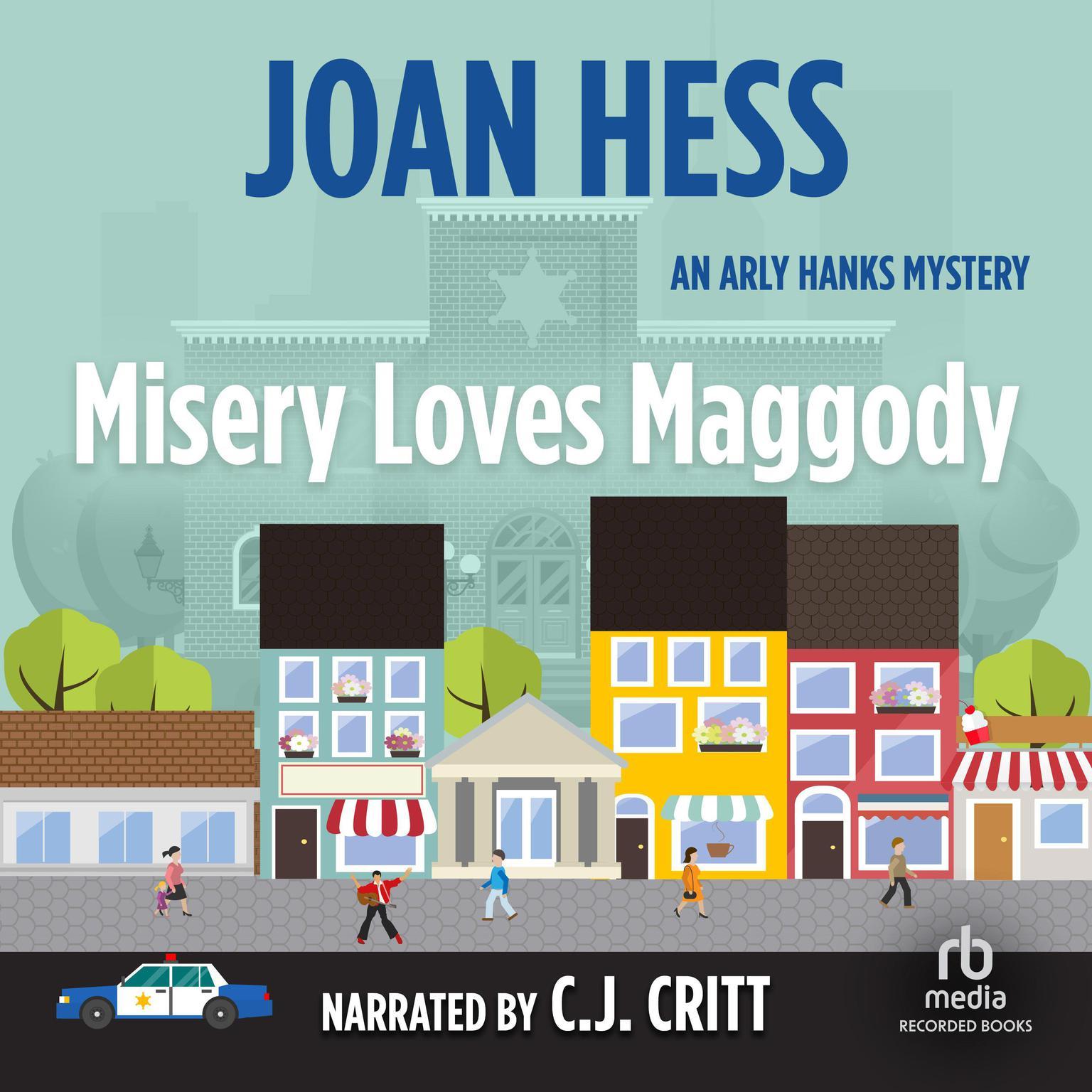 Printable Misery Loves Maggody Audiobook Cover Art