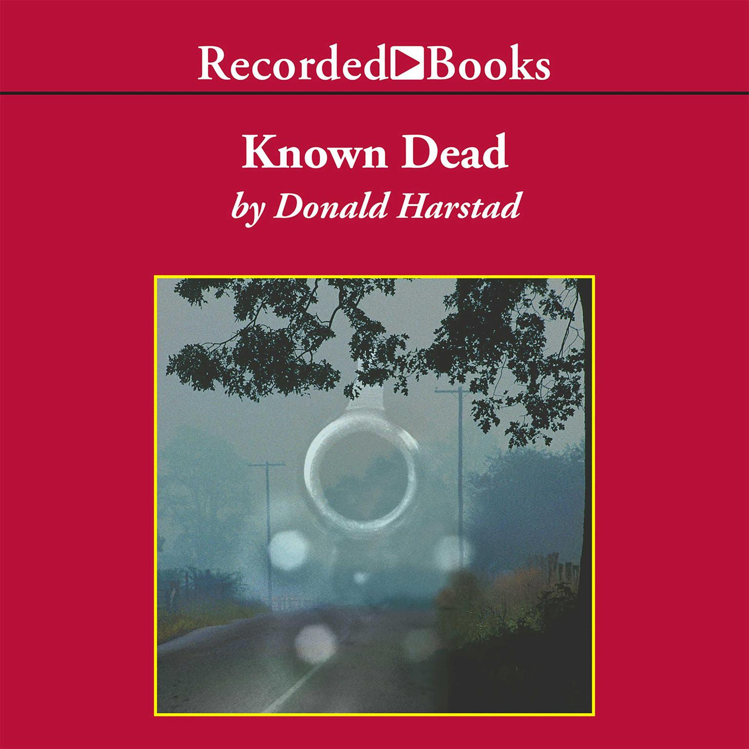 Printable Known Dead Audiobook Cover Art