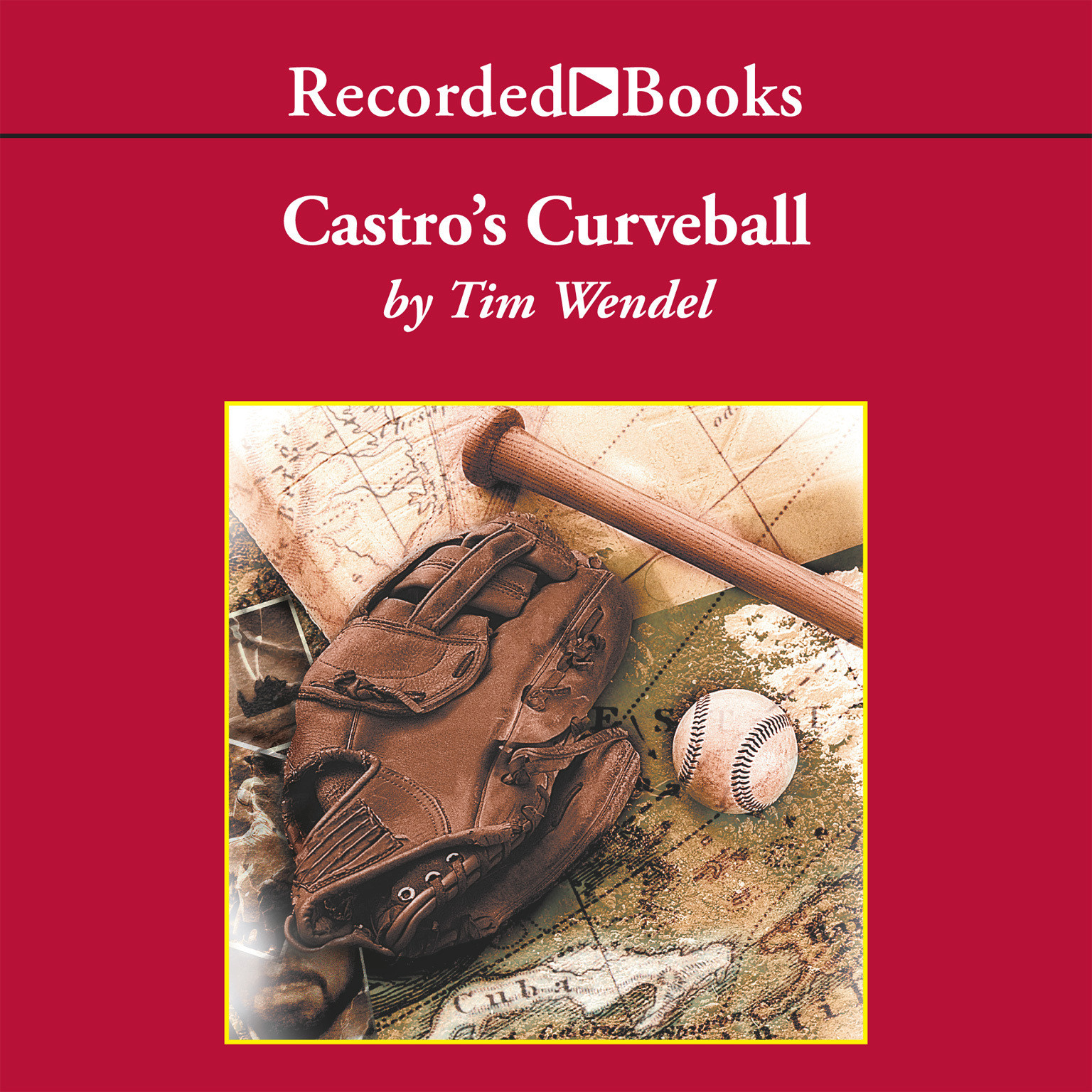 Printable Castro's Curveball Audiobook Cover Art