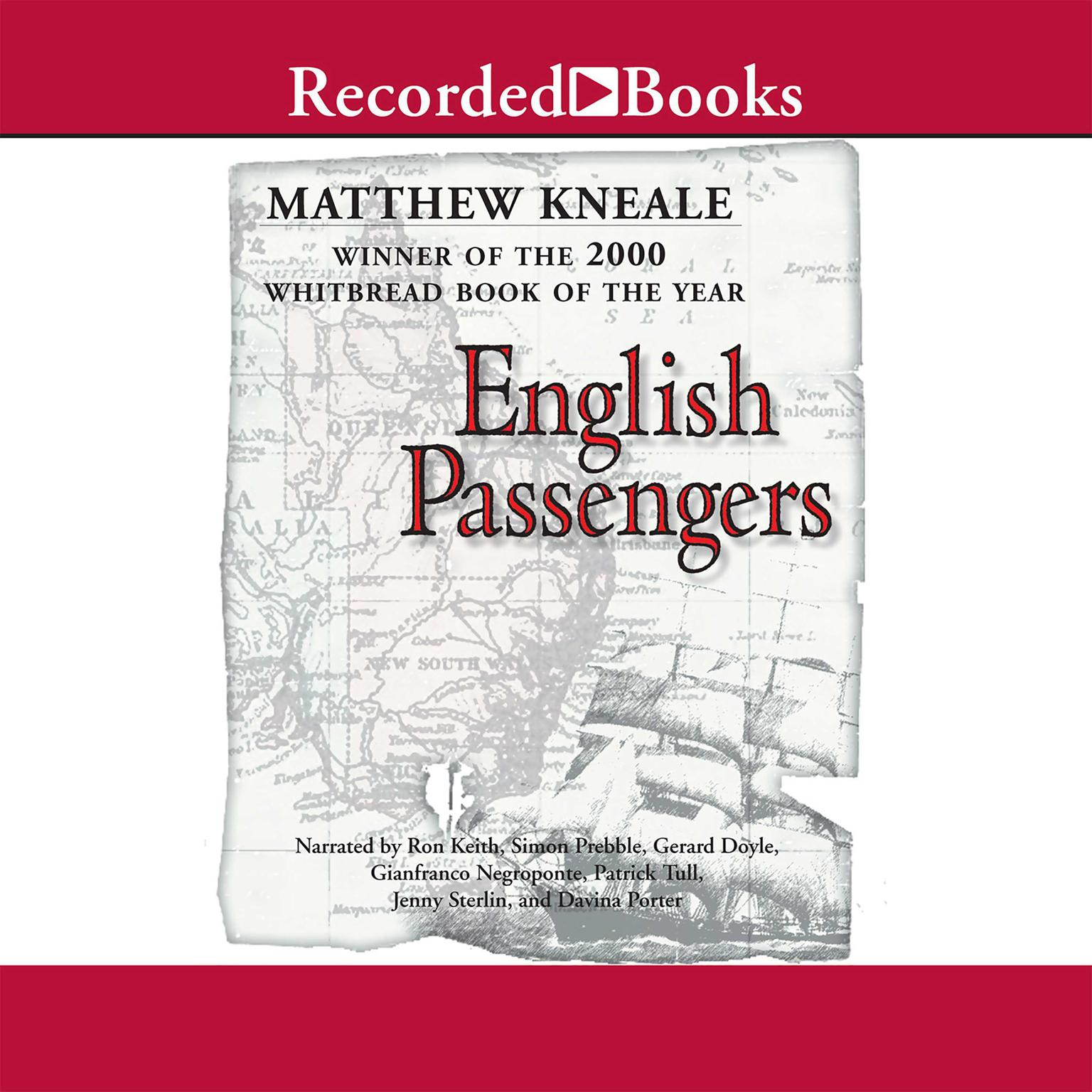 Printable English Passengers Audiobook Cover Art