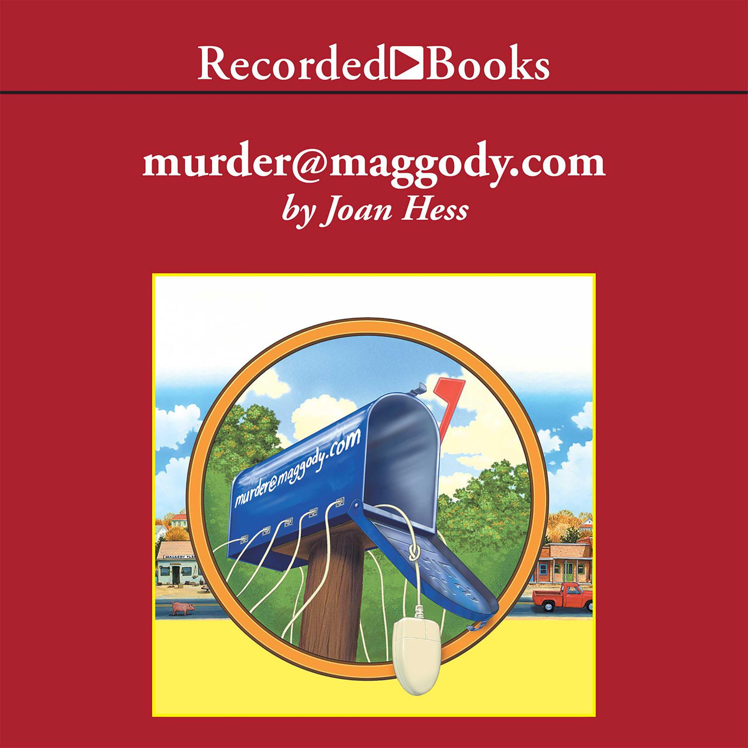 Printable Murder@Maggody.com Audiobook Cover Art