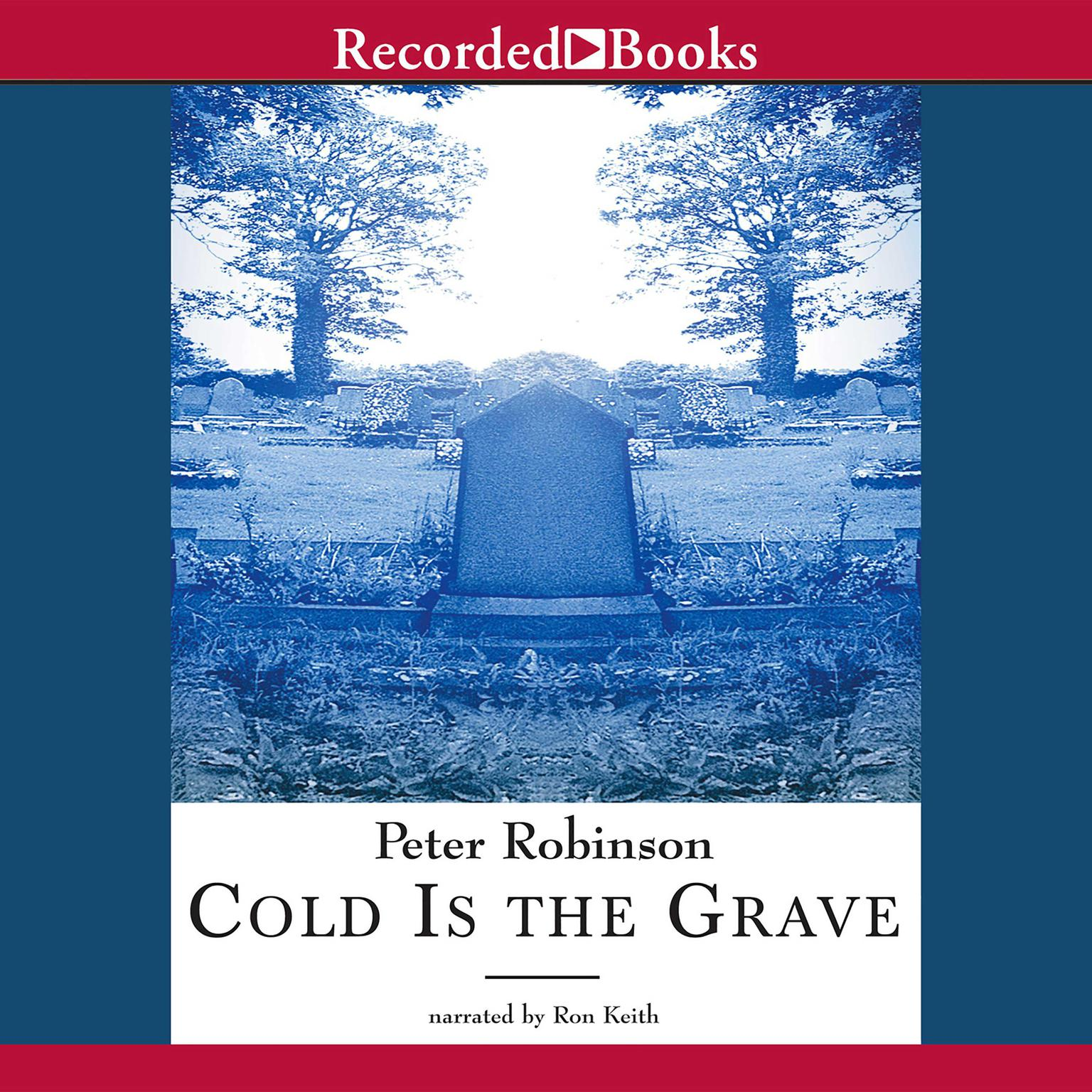 Printable Cold Is the Grave Audiobook Cover Art