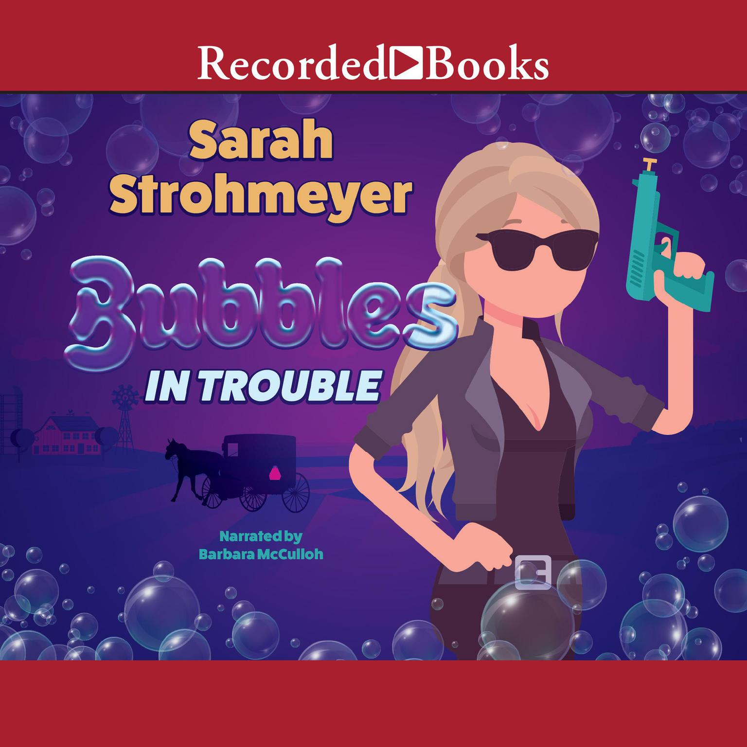 Printable Bubbles in Trouble Audiobook Cover Art
