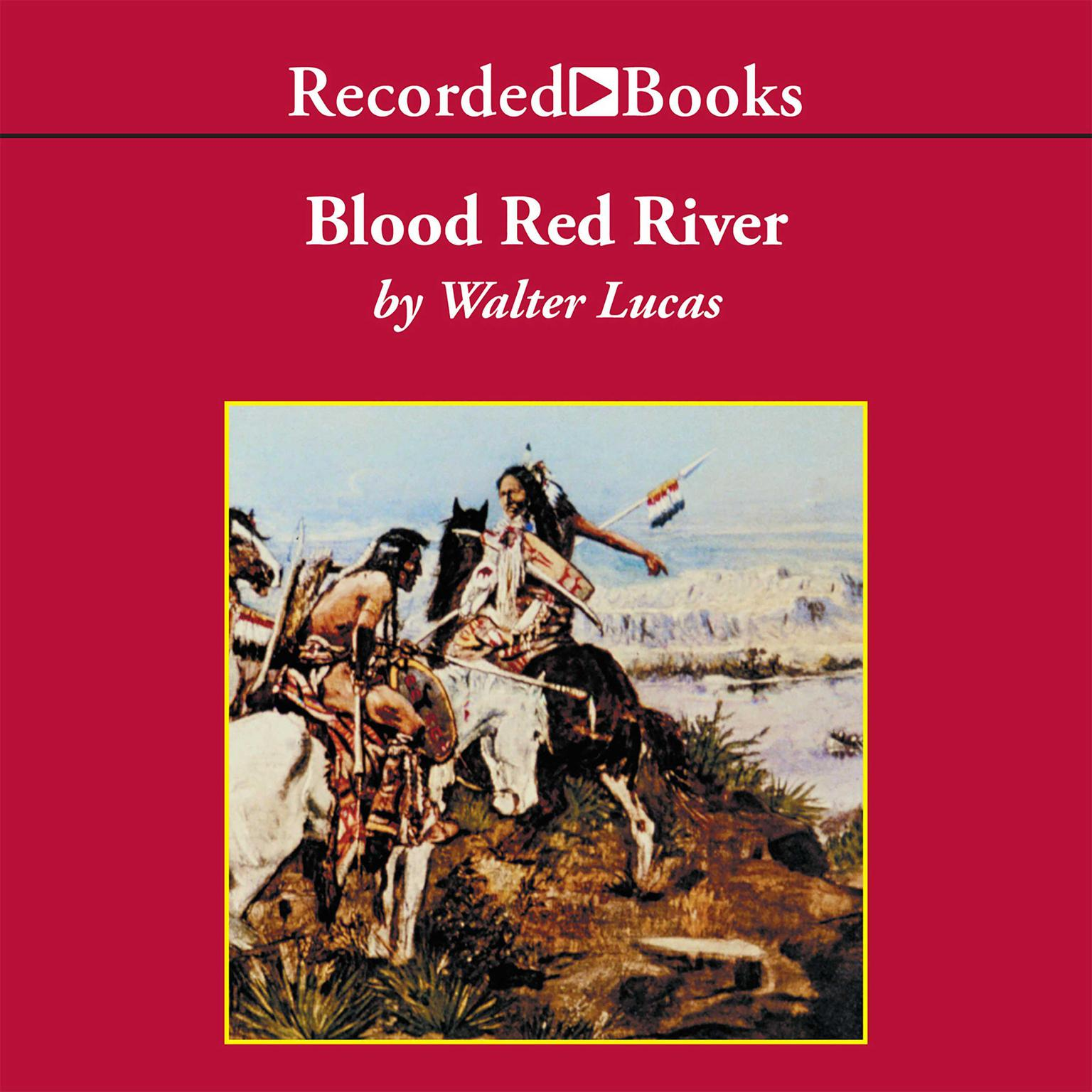 Printable Blood Red River Audiobook Cover Art
