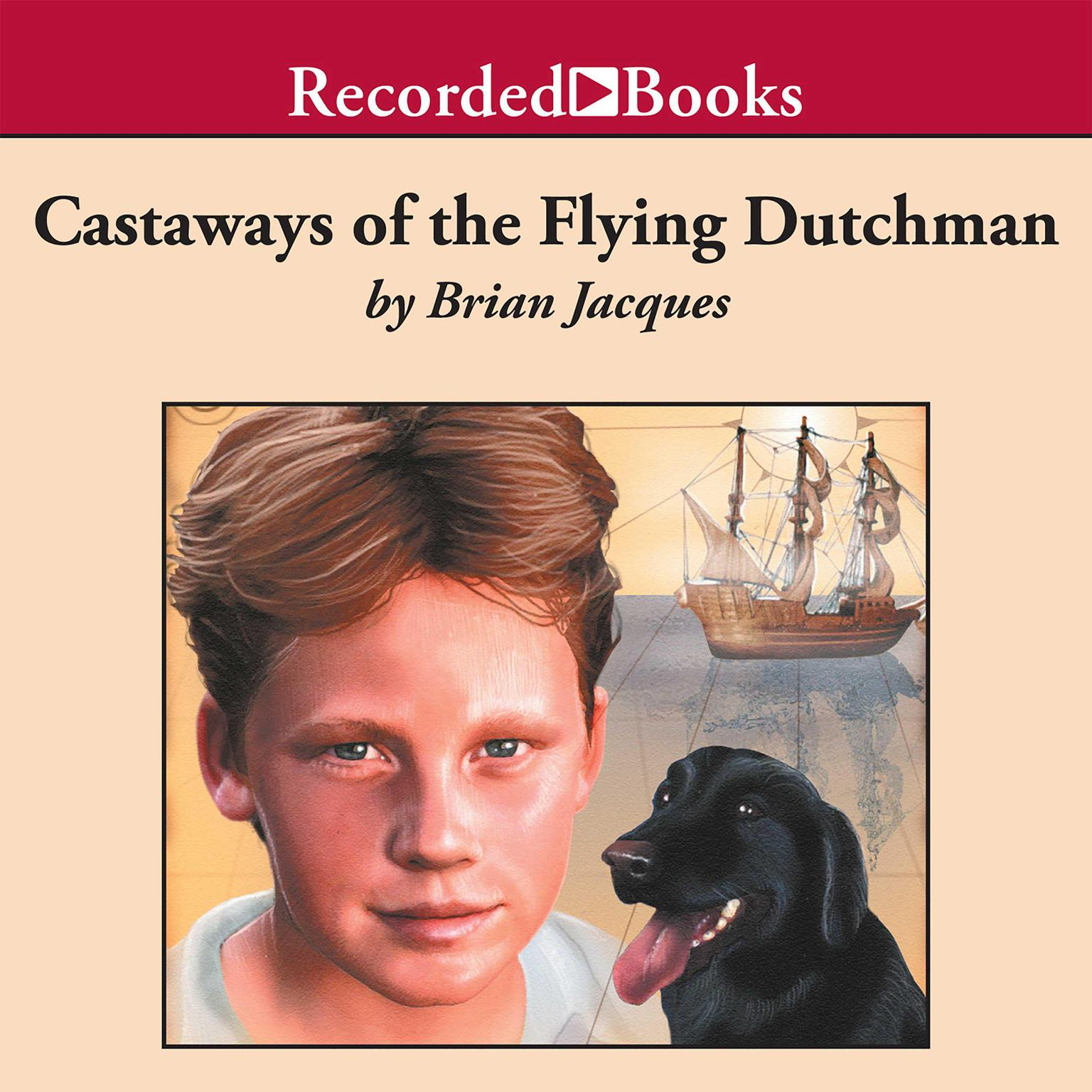 Printable Castaways of the Flying Dutchman Audiobook Cover Art