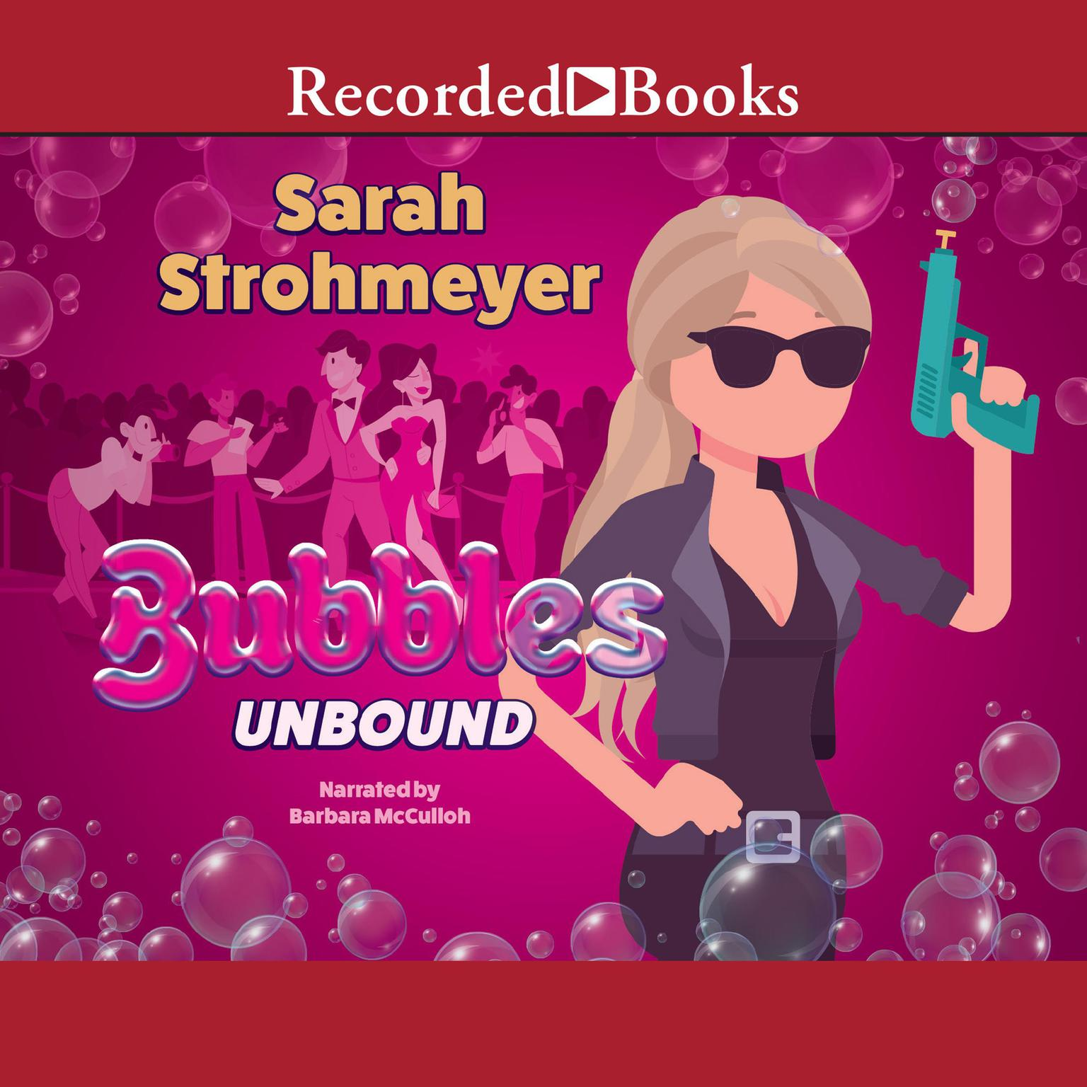 Printable Bubbles Unbound Audiobook Cover Art