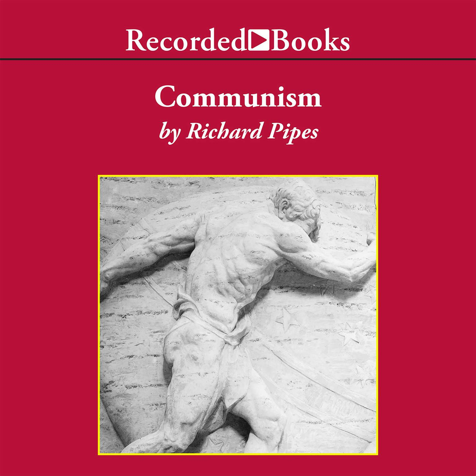 Printable Communism Audiobook Cover Art