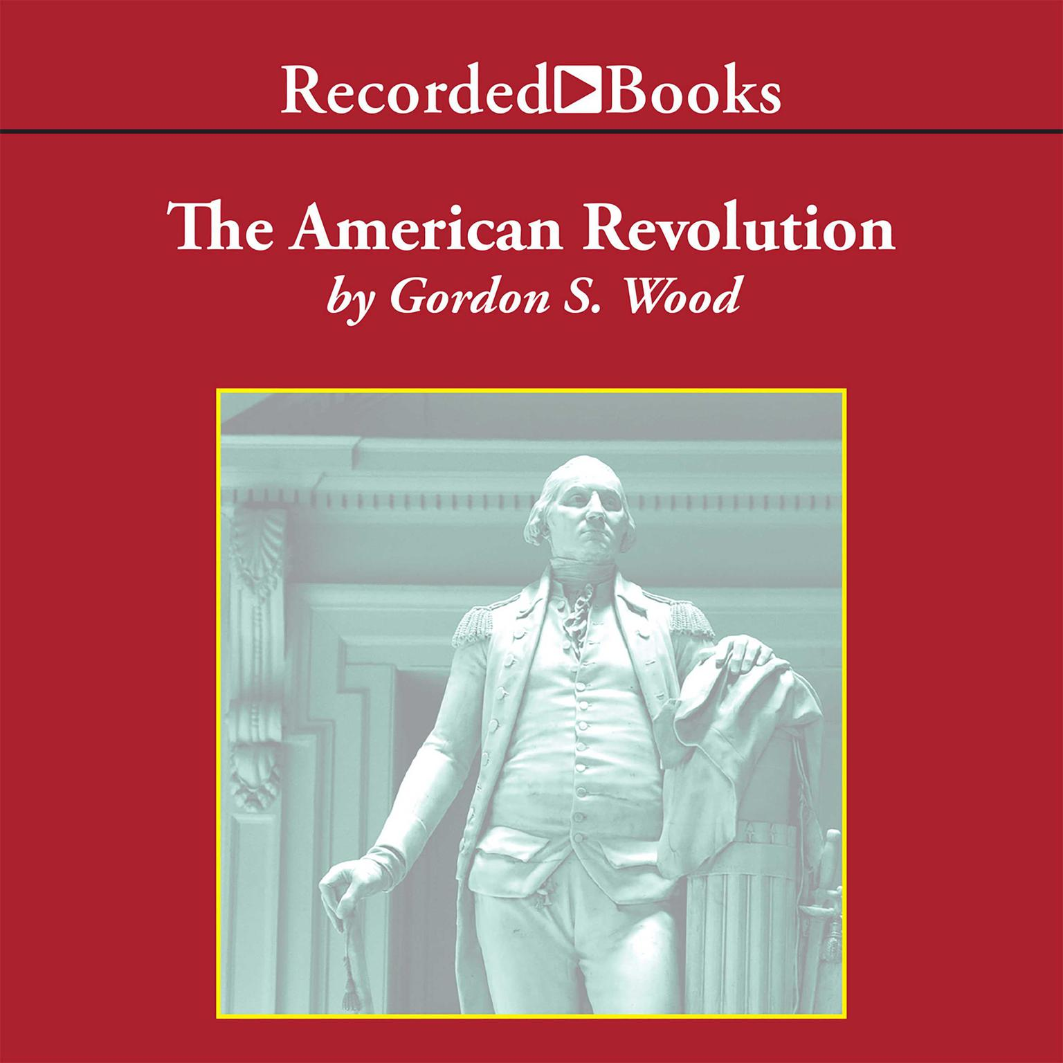 Printable The American Revolution Audiobook Cover Art