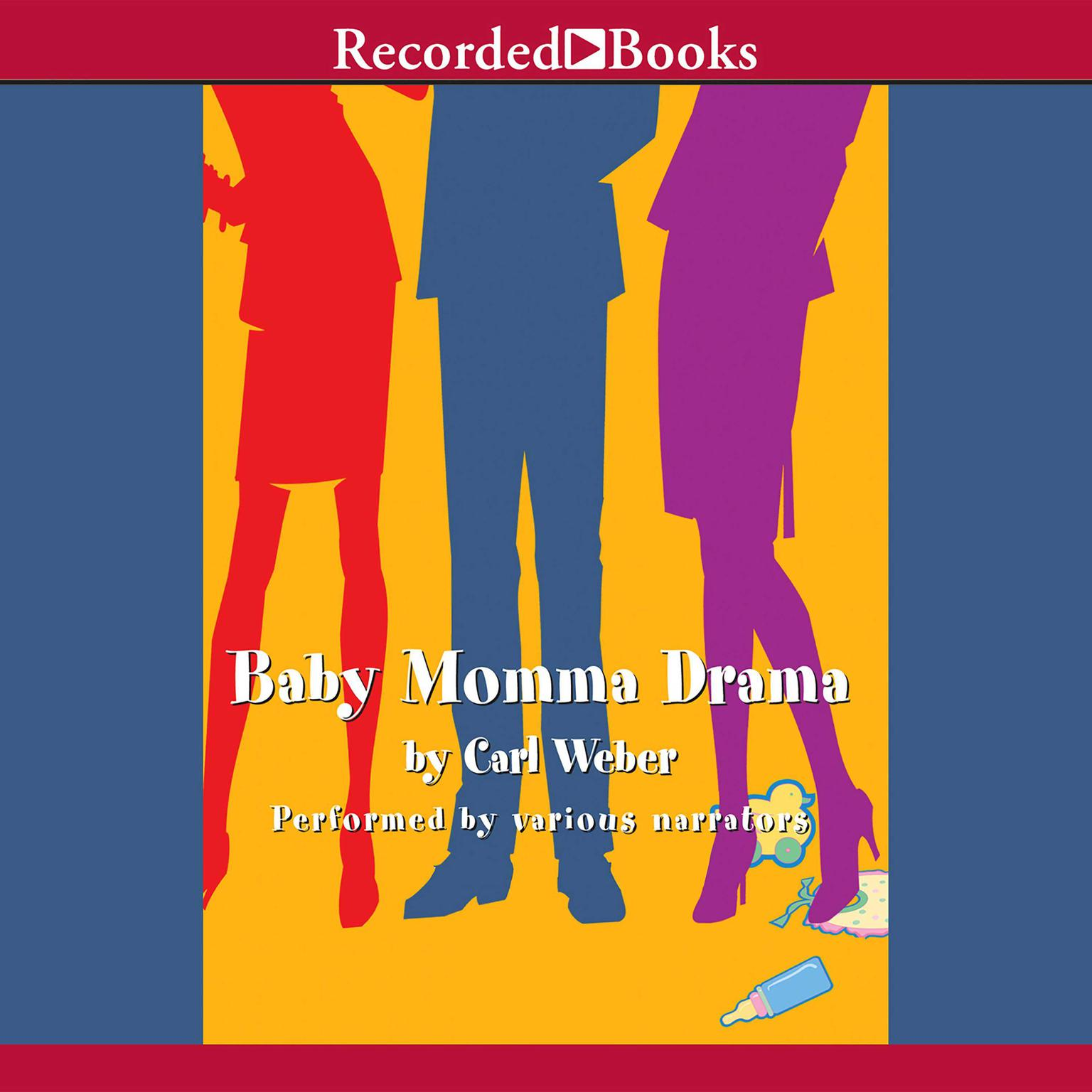 Printable Baby Momma Drama Audiobook Cover Art