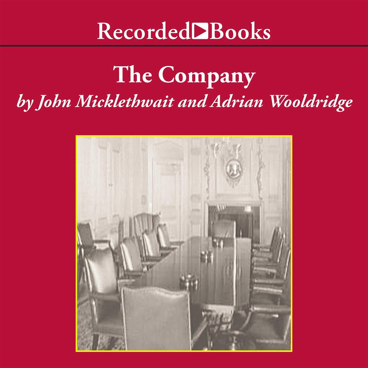 Printable The Company: A Short History of a Revolutionary Idea Audiobook Cover Art