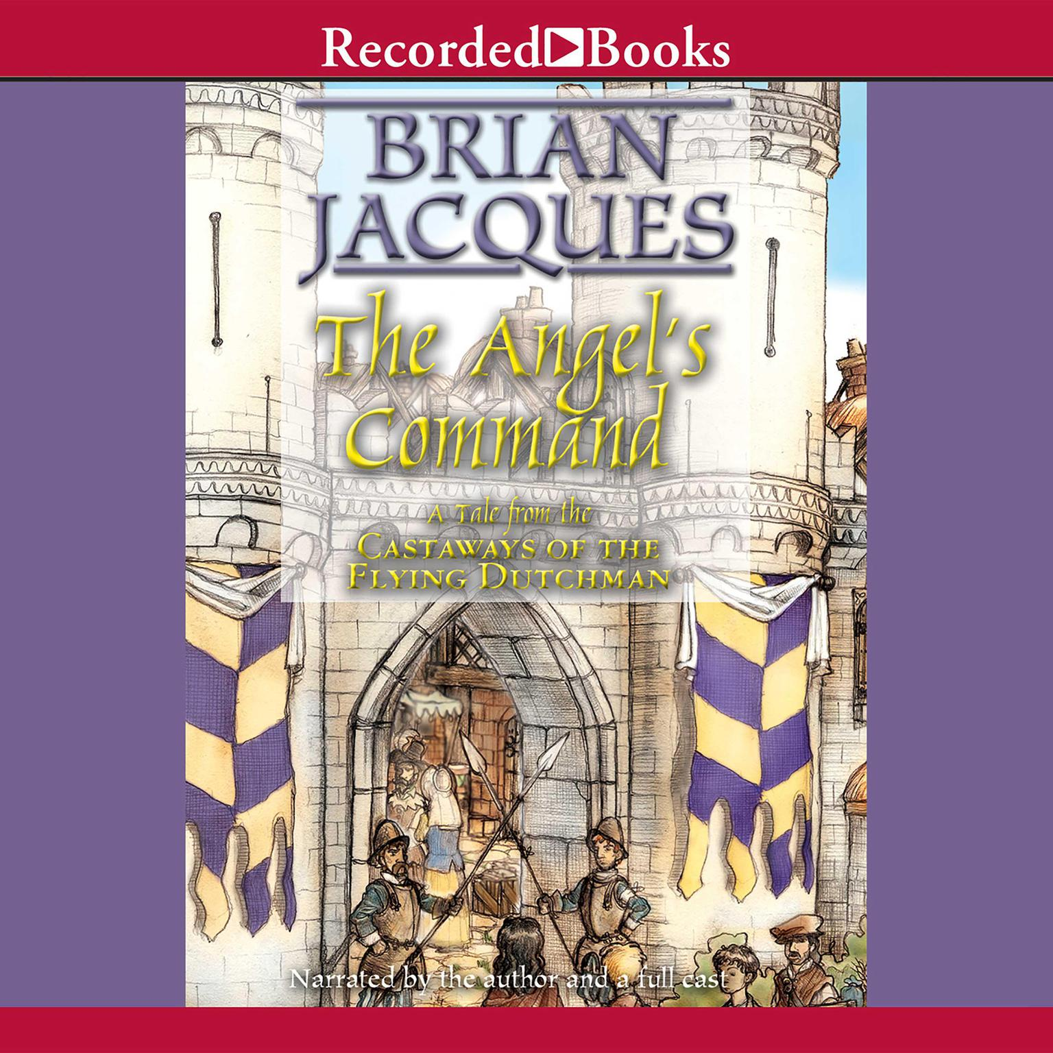 Printable The Angel's Command: A Tale from the Castaways of the Flying Dutchman Audiobook Cover Art