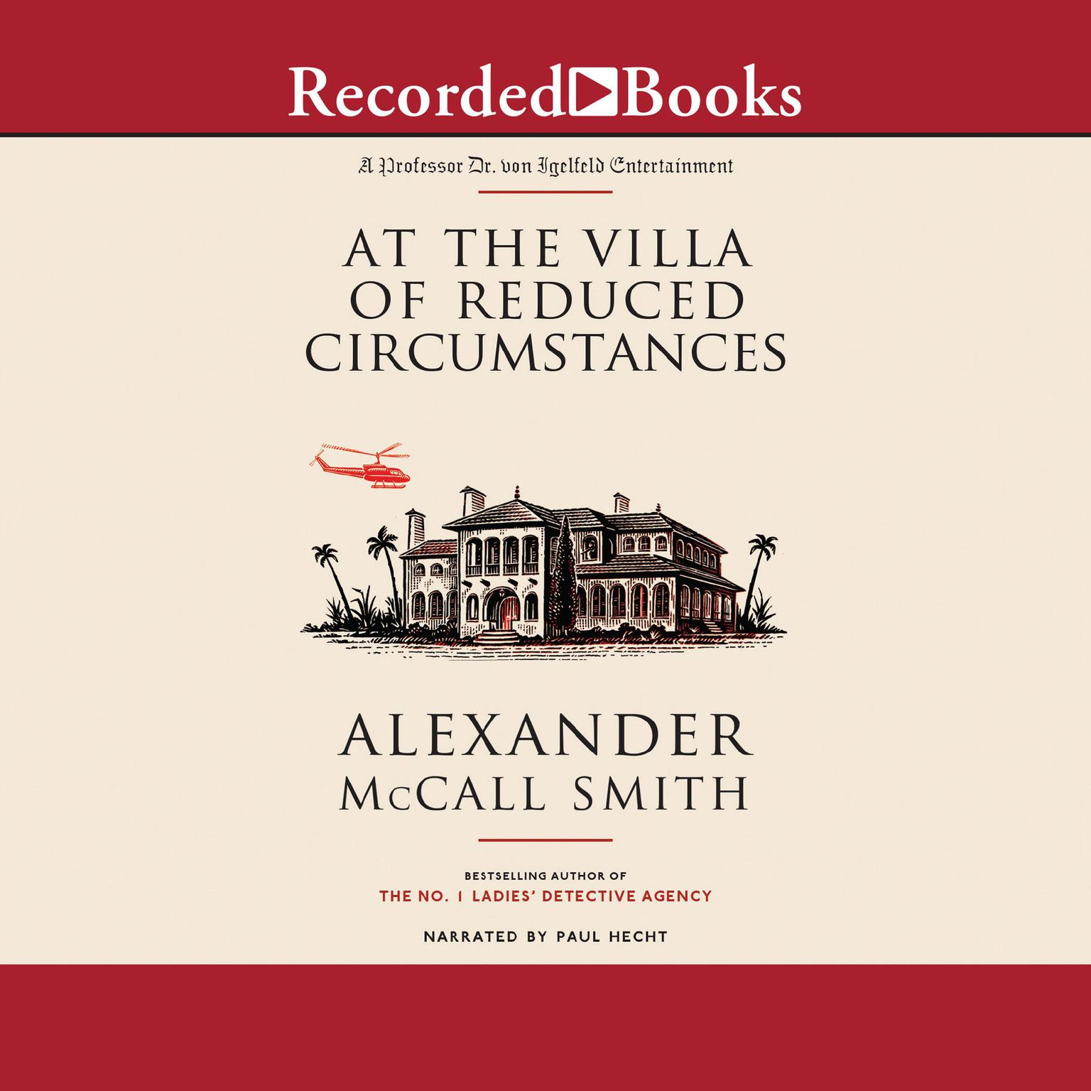Printable At the Villa of Reduced Circumstances Audiobook Cover Art