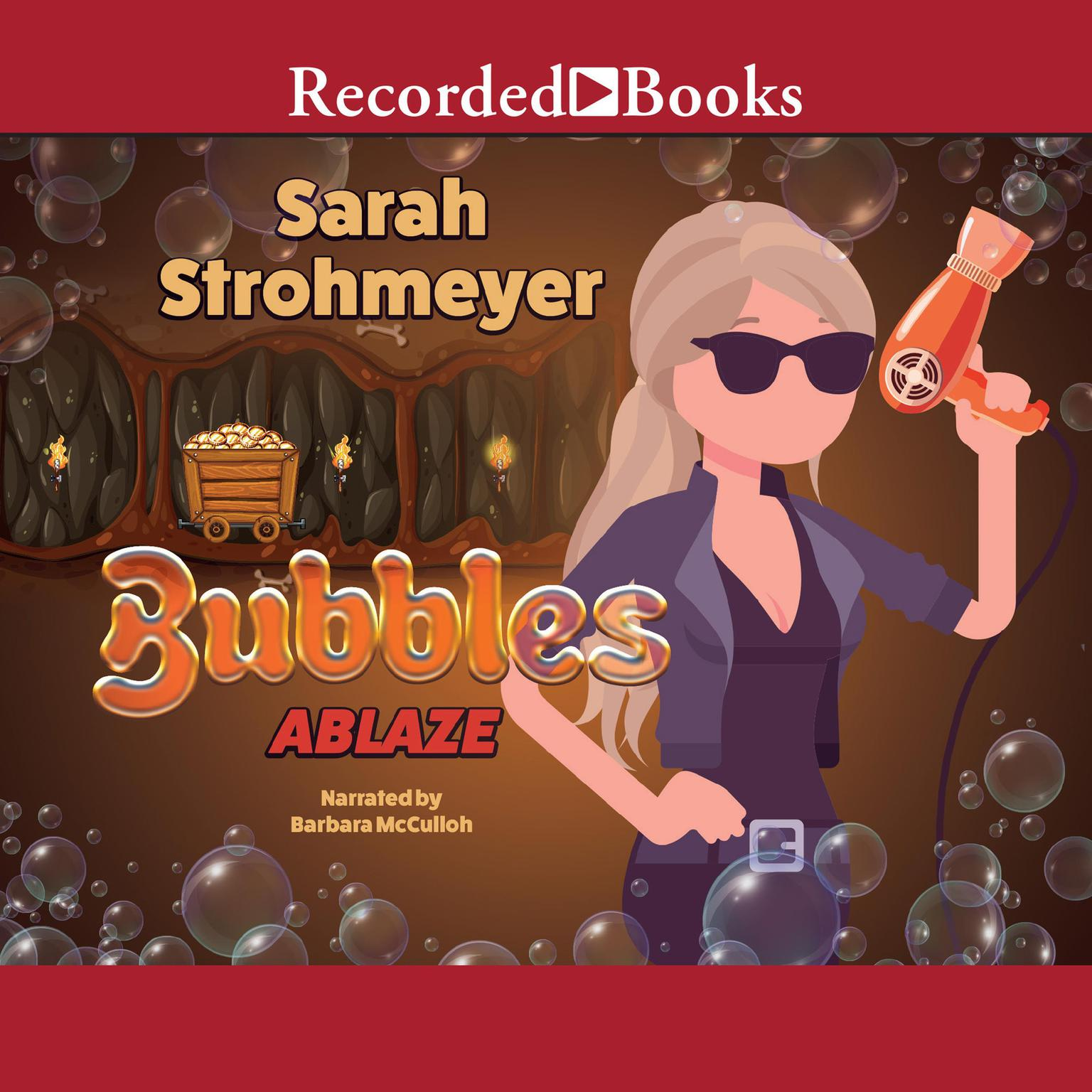 Printable Bubbles Ablaze Audiobook Cover Art