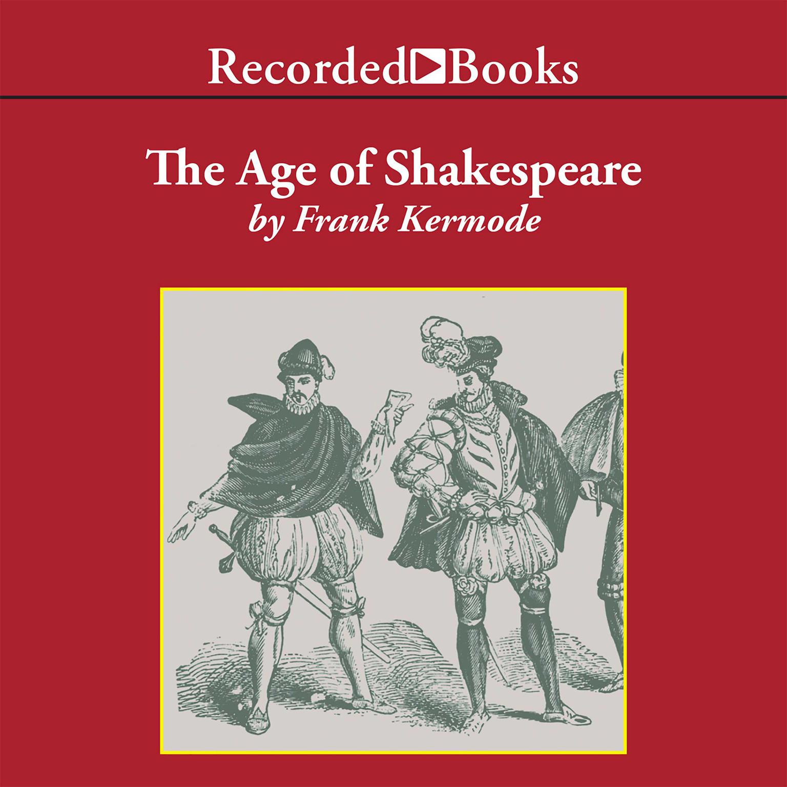 Printable The Age of Shakespeare Audiobook Cover Art