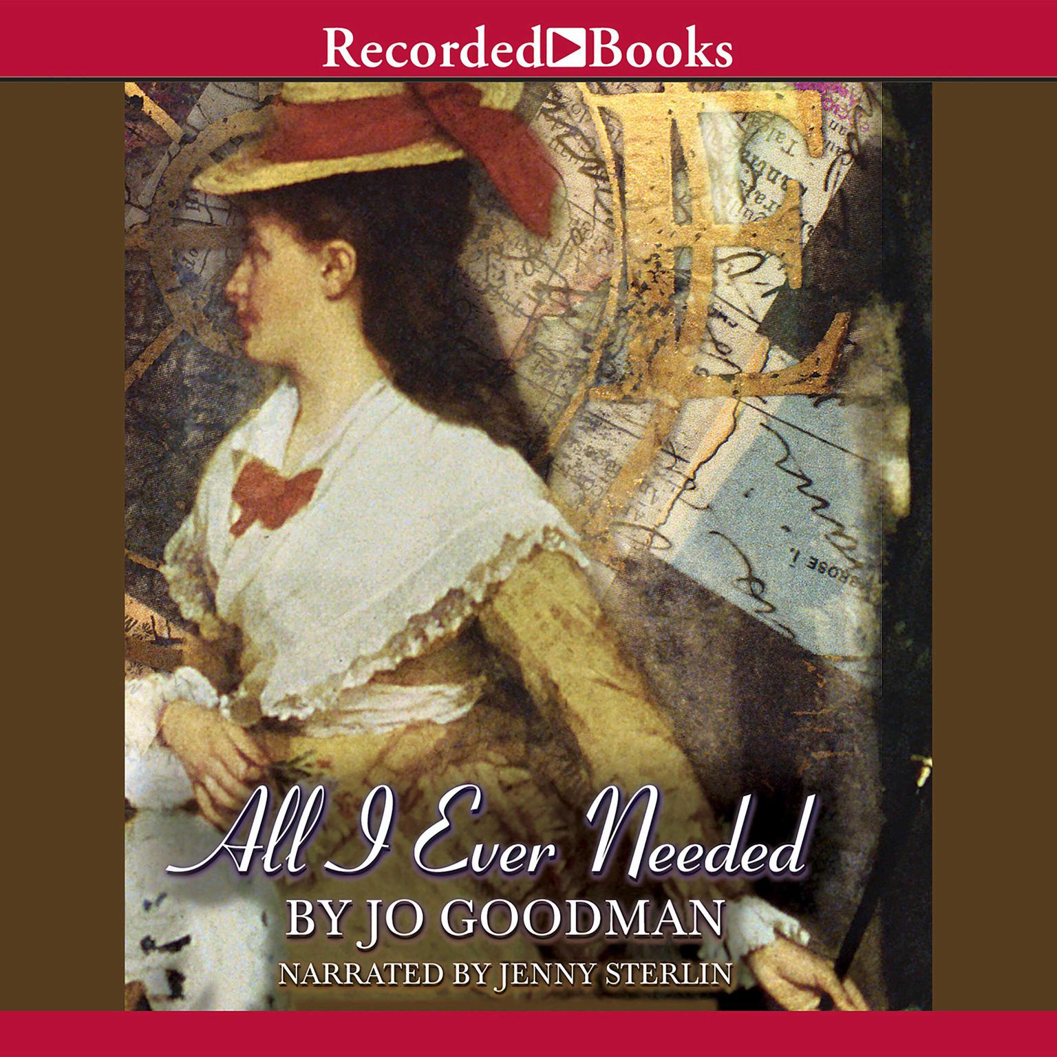Printable All I Ever Needed Audiobook Cover Art
