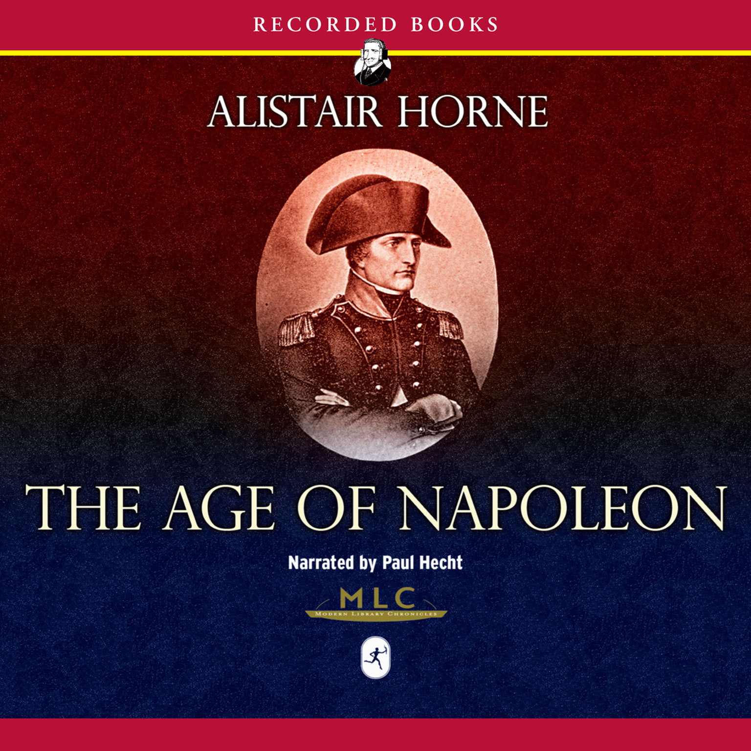 Printable The Age of Napoleon Audiobook Cover Art