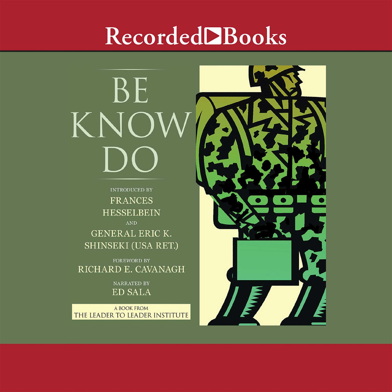 Printable Be-Know-Do: Leadership the Army Way Audiobook Cover Art