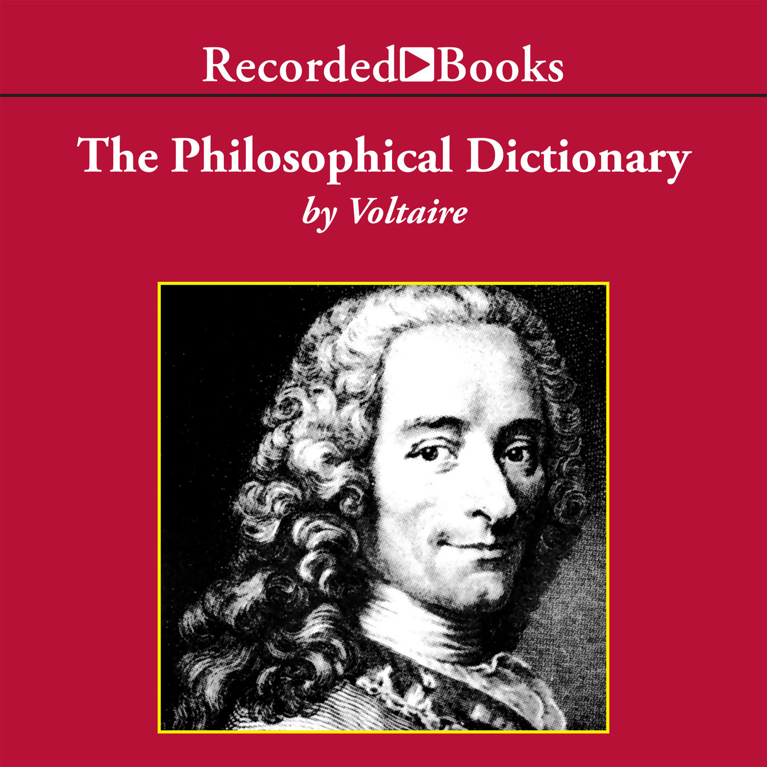 Printable The Philosophical Dictionary Audiobook Cover Art