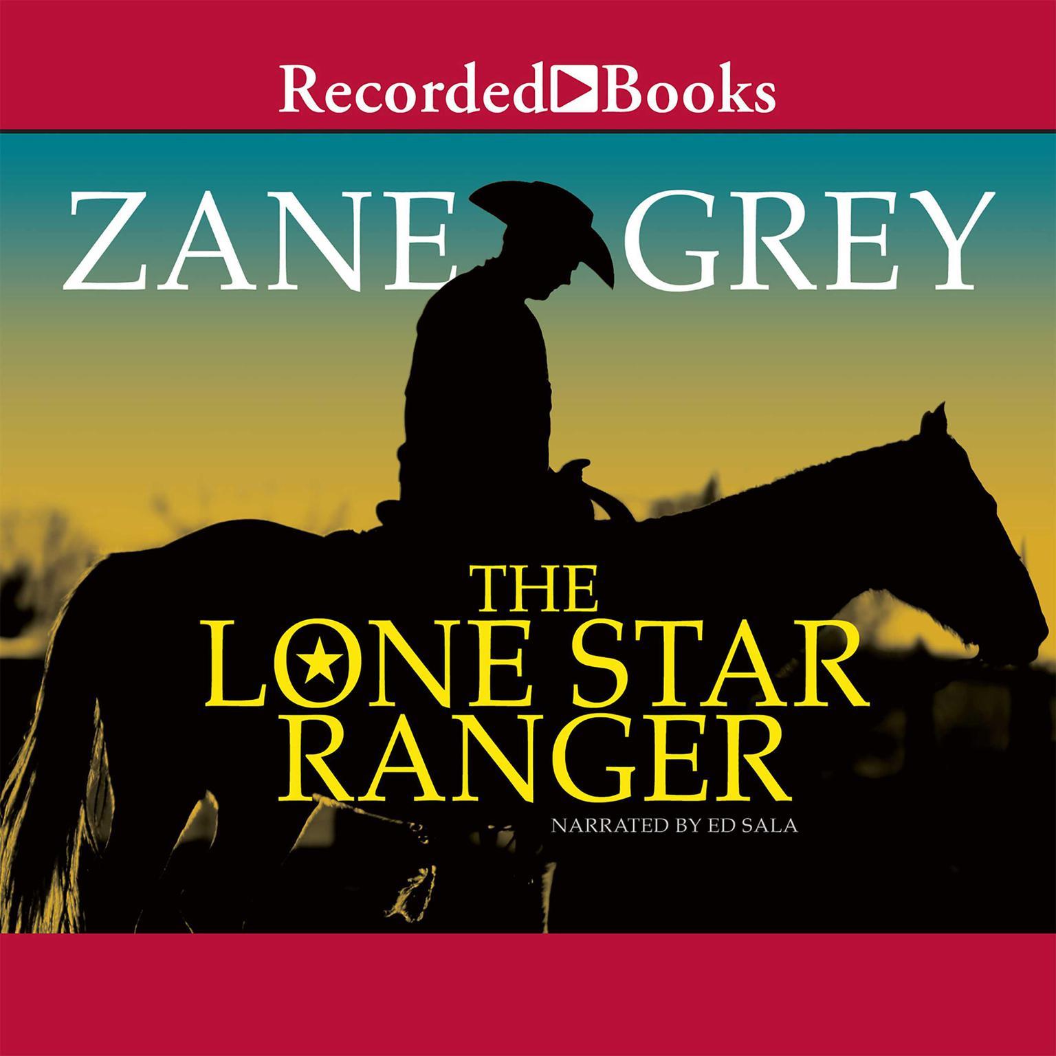 Printable Lone Star Ranger: A Romance of the Border Audiobook Cover Art