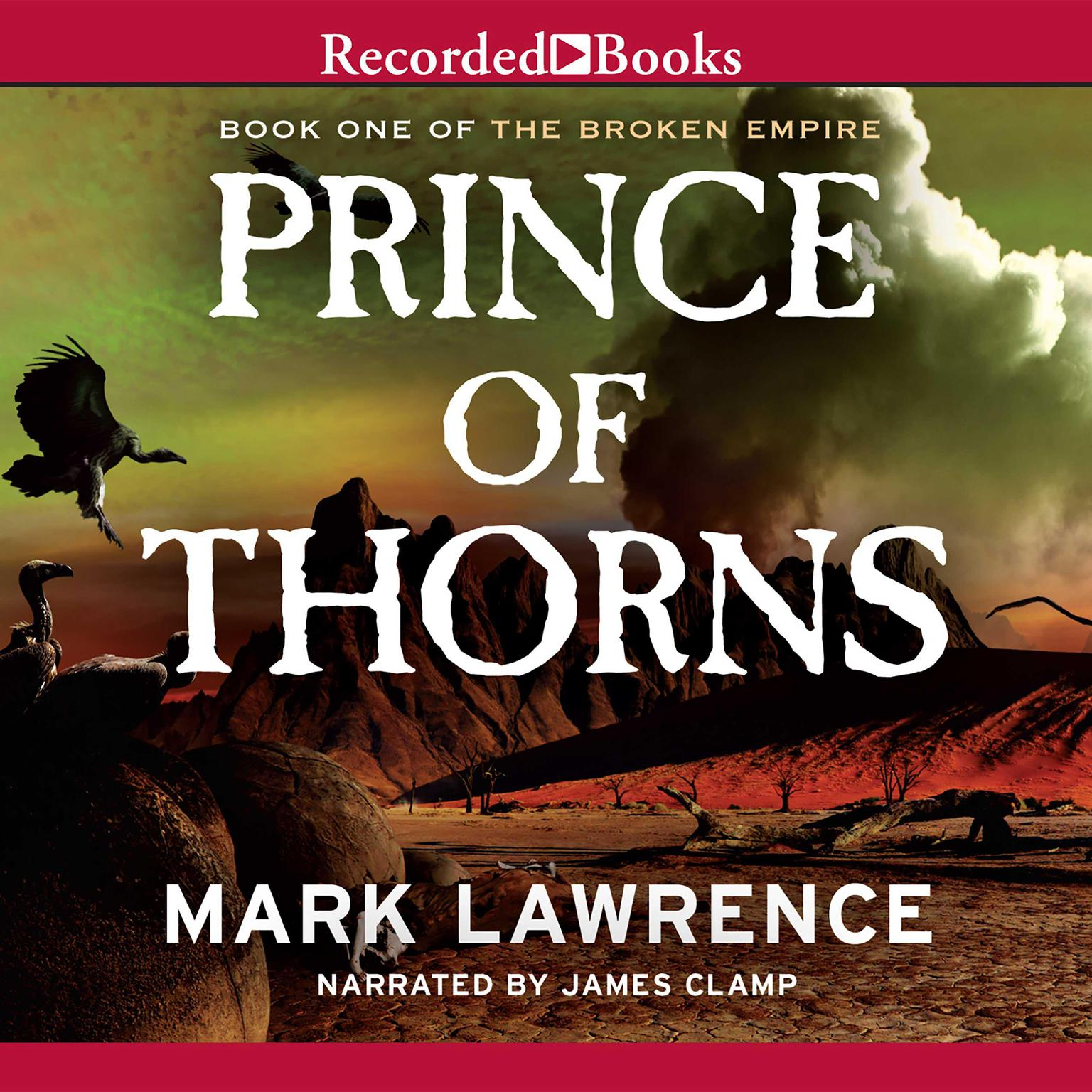 Printable Prince of Thorns Audiobook Cover Art