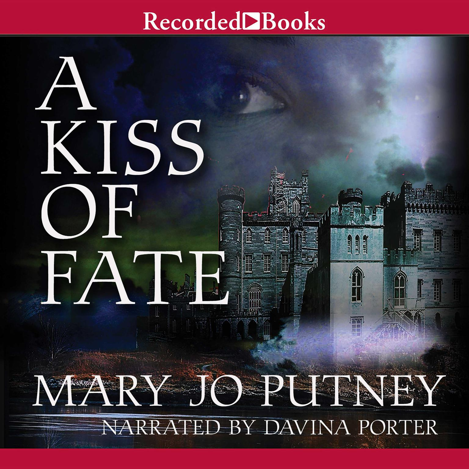 Printable A Kiss of Fate Audiobook Cover Art
