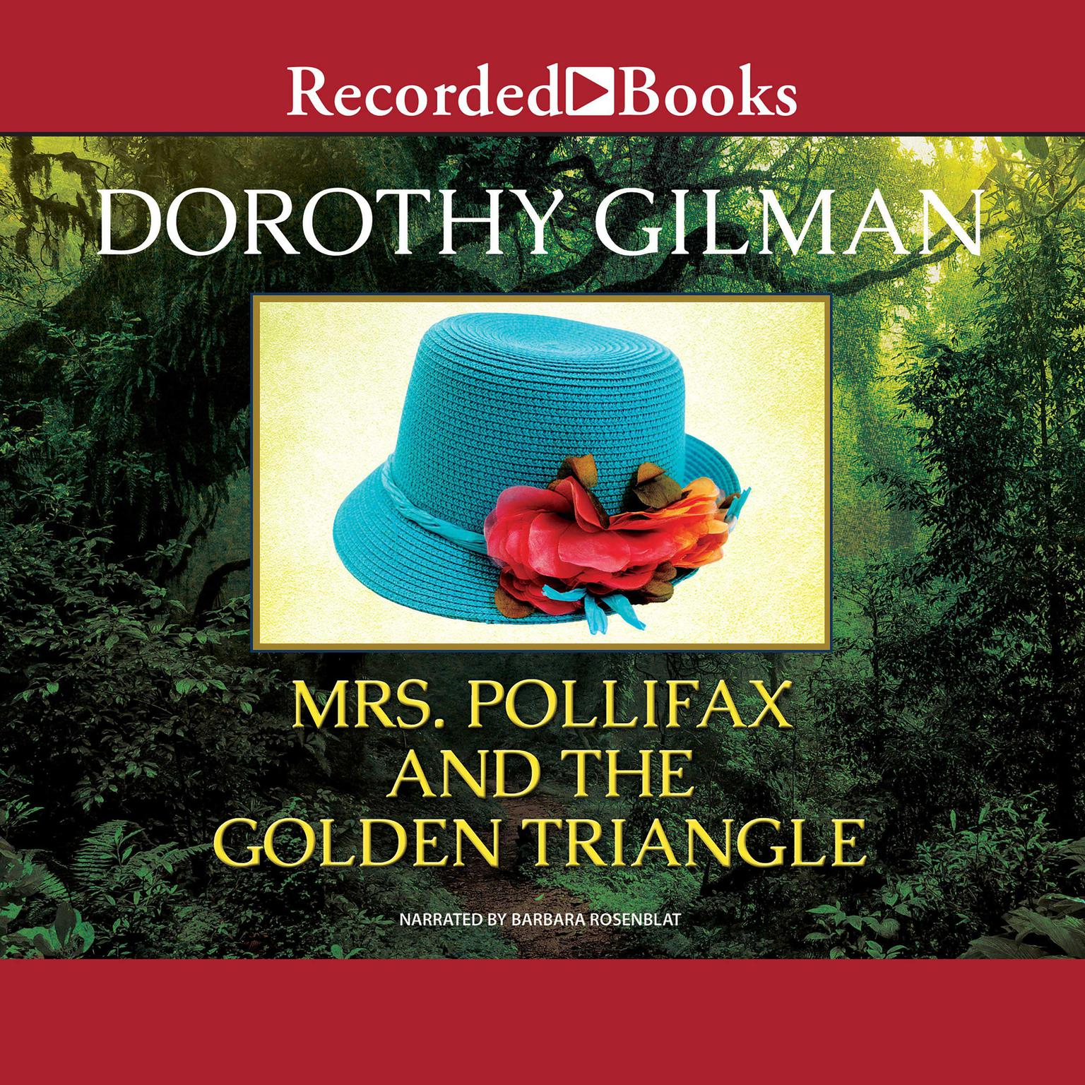 Printable Mrs. Pollifax and the Golden Triangle Audiobook Cover Art