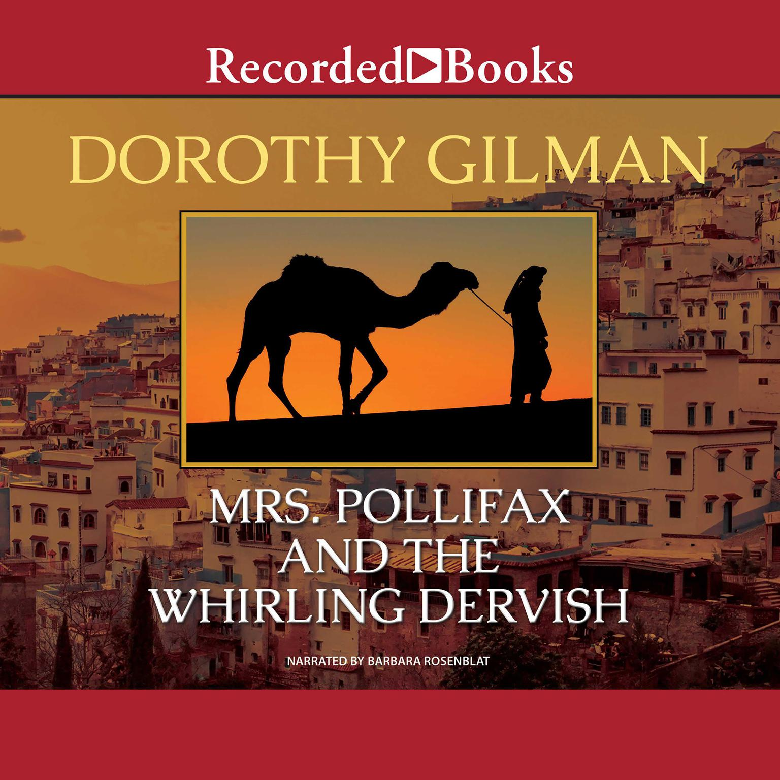Printable Mrs. Pollifax and the Whirling Dervish Audiobook Cover Art