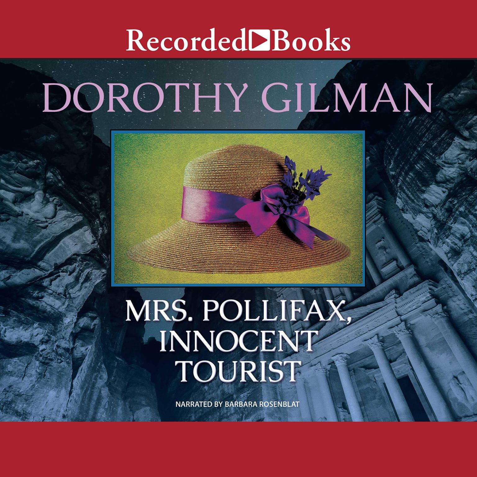 Printable Mrs. Pollifax, Innocent Tourist Audiobook Cover Art