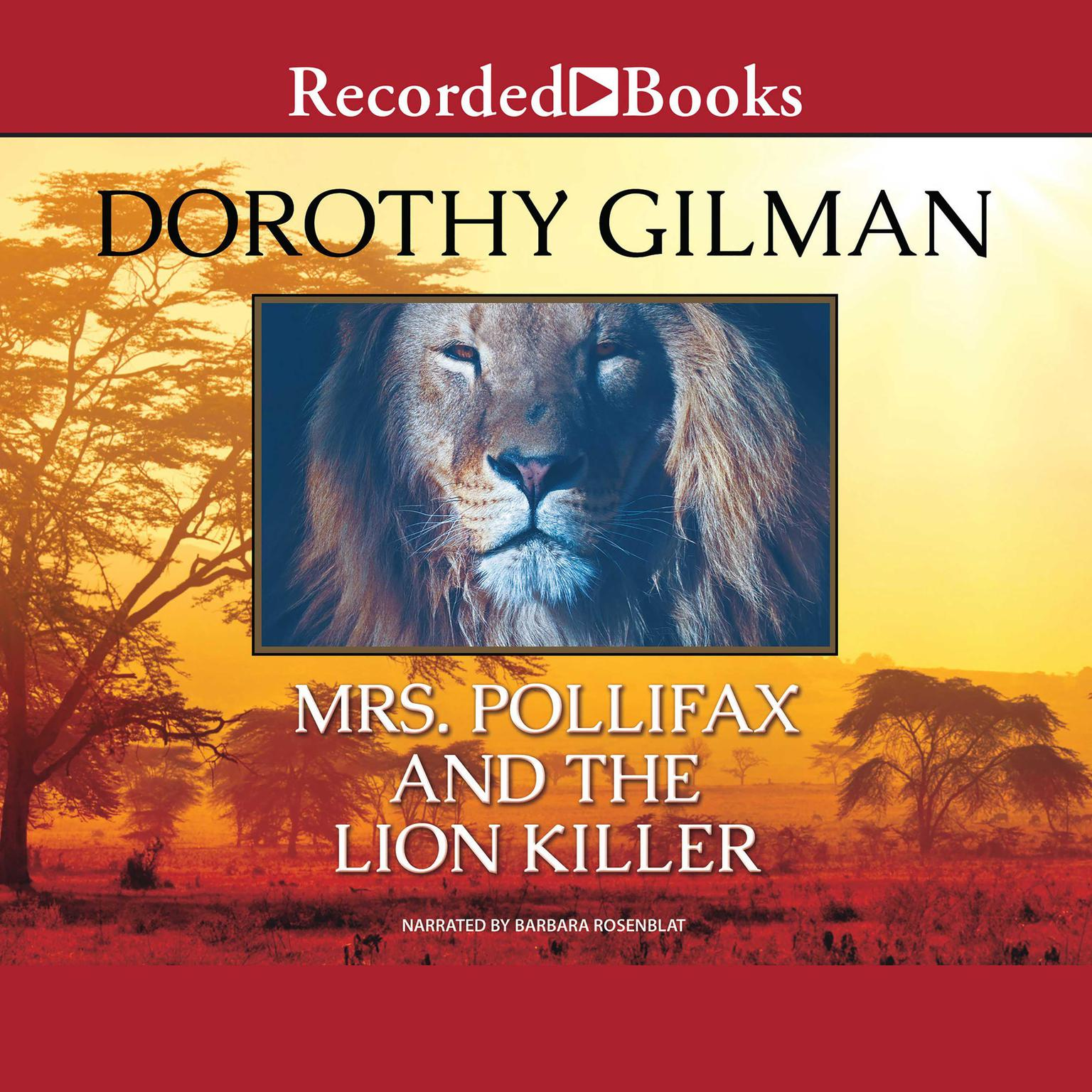 Printable Mrs. Pollifax and the Lion Killer Audiobook Cover Art
