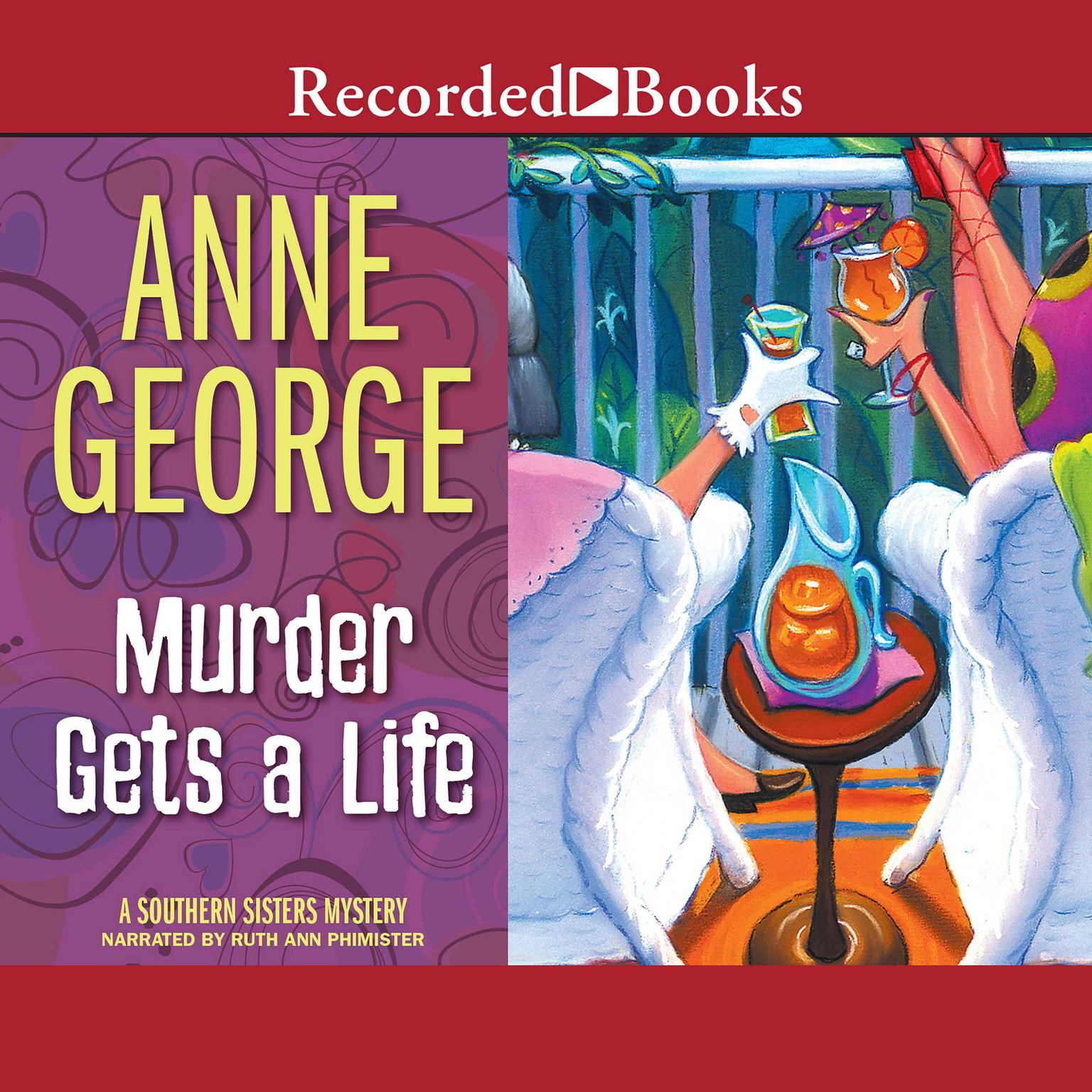 Printable Murder Gets a Life Audiobook Cover Art