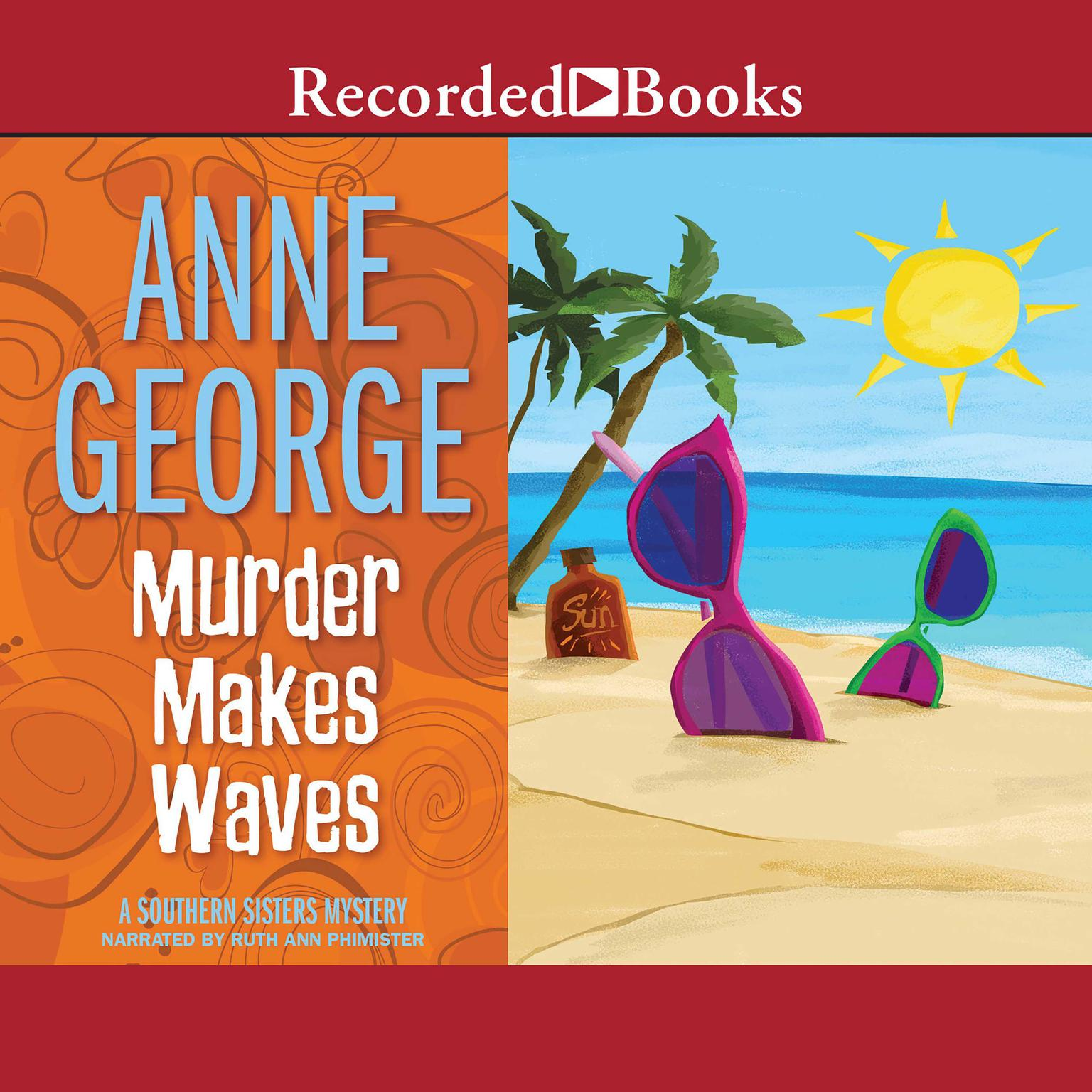 Printable Murder Makes Waves Audiobook Cover Art