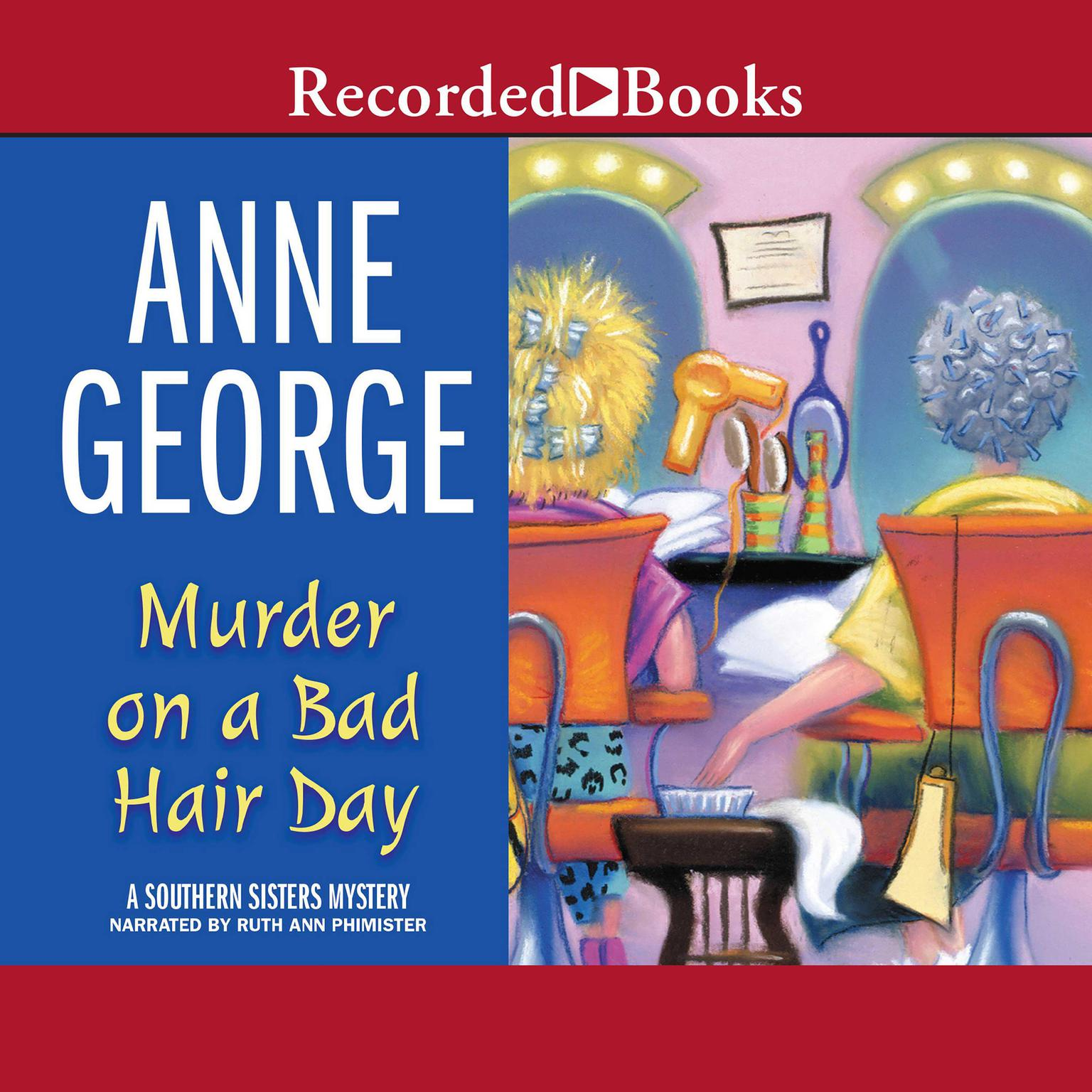 Printable Murder on a Bad Hair Day Audiobook Cover Art