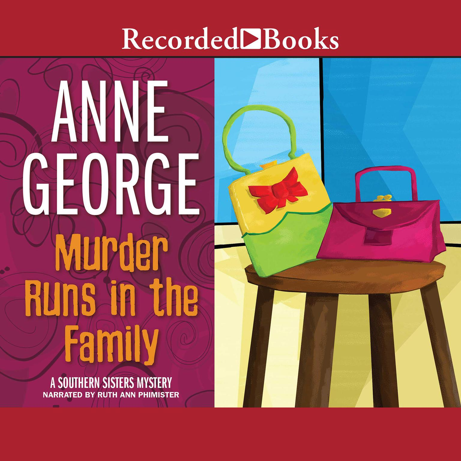 Printable Murder Runs in the Family Audiobook Cover Art