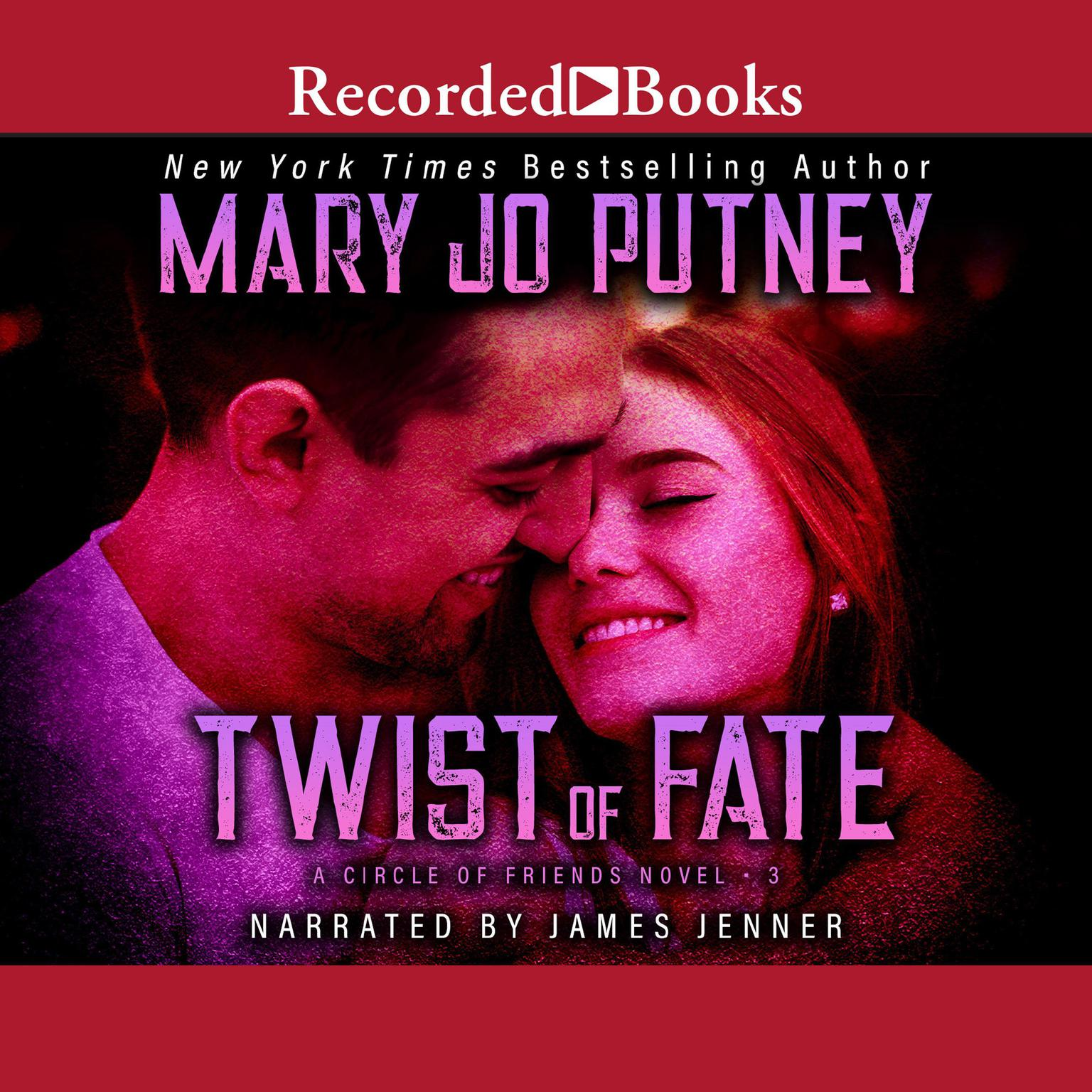 Printable Twist of Fate Audiobook Cover Art