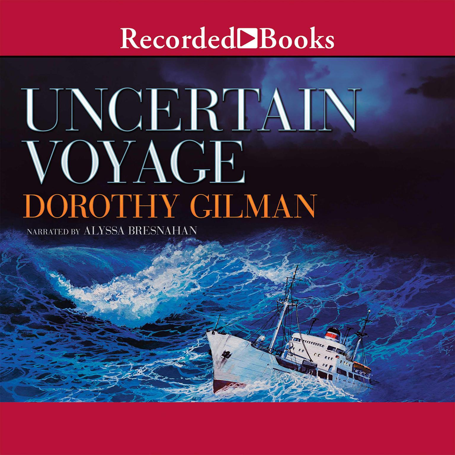 Printable Uncertain Voyage Audiobook Cover Art