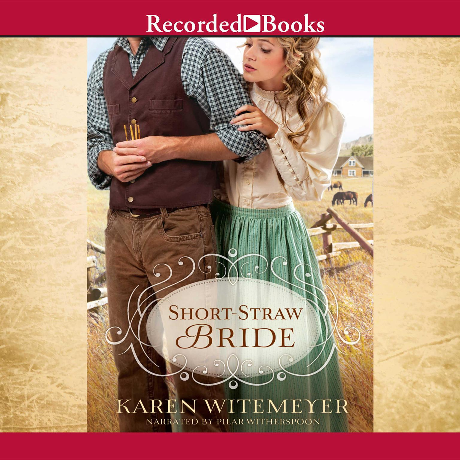 Printable Short-Straw Bride Audiobook Cover Art