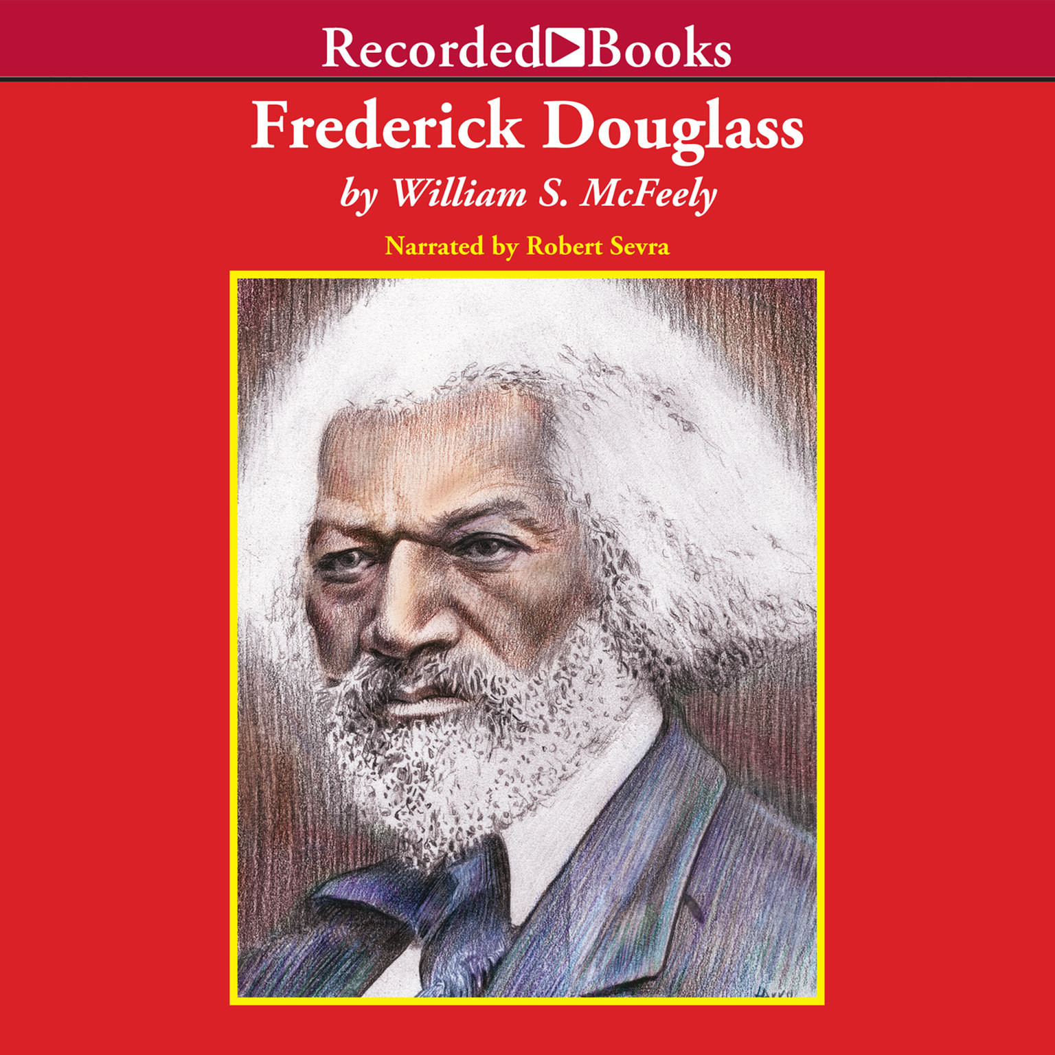 Printable Frederick Douglass Audiobook Cover Art