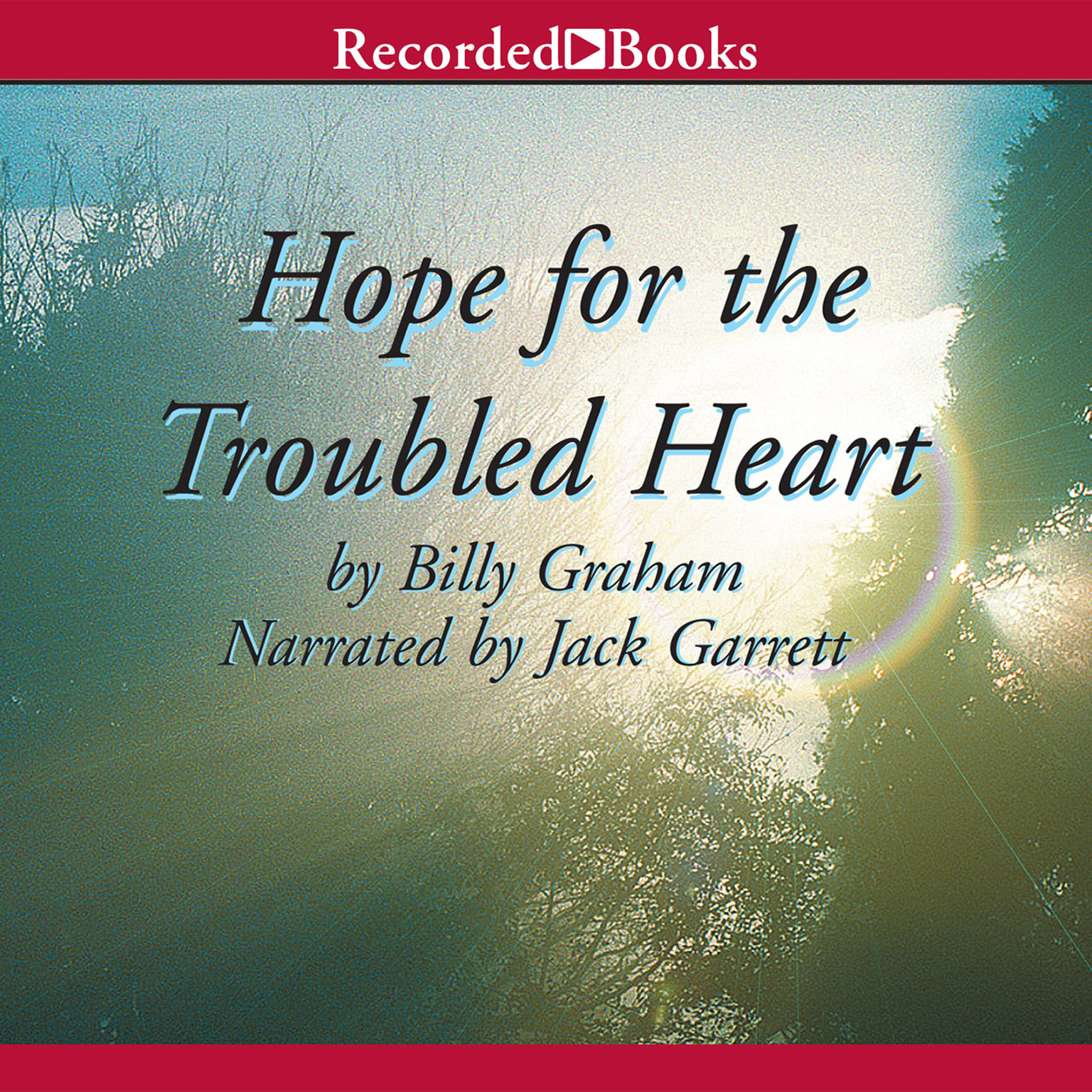 Printable Hope for the Troubled Heart Audiobook Cover Art