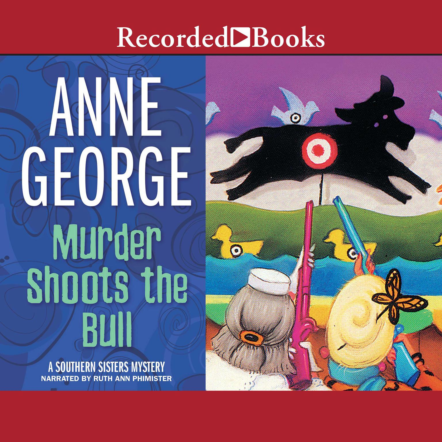 Printable Murder Shoots the Bull Audiobook Cover Art