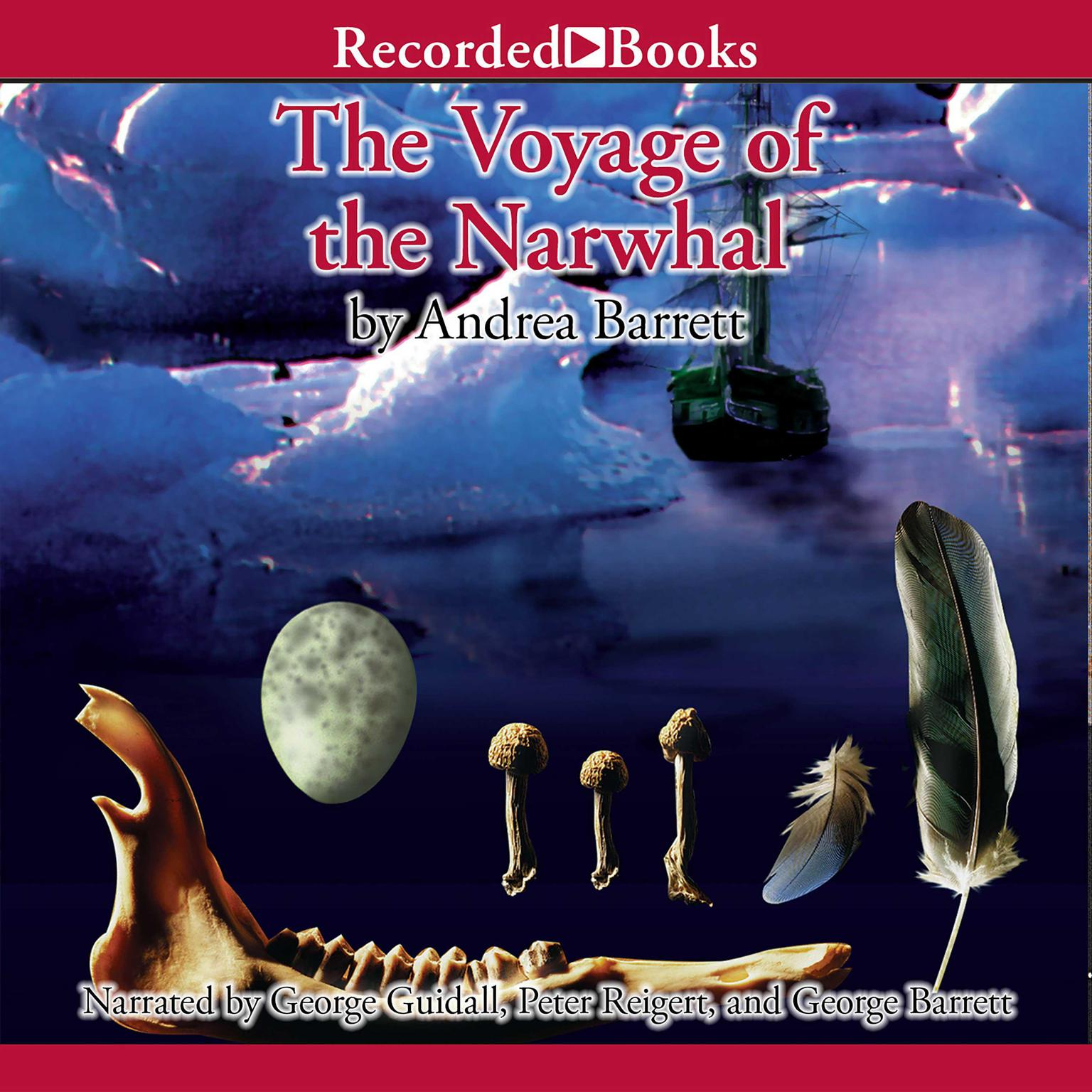 Printable The Voyage of the Narwhal: A Novel Audiobook Cover Art