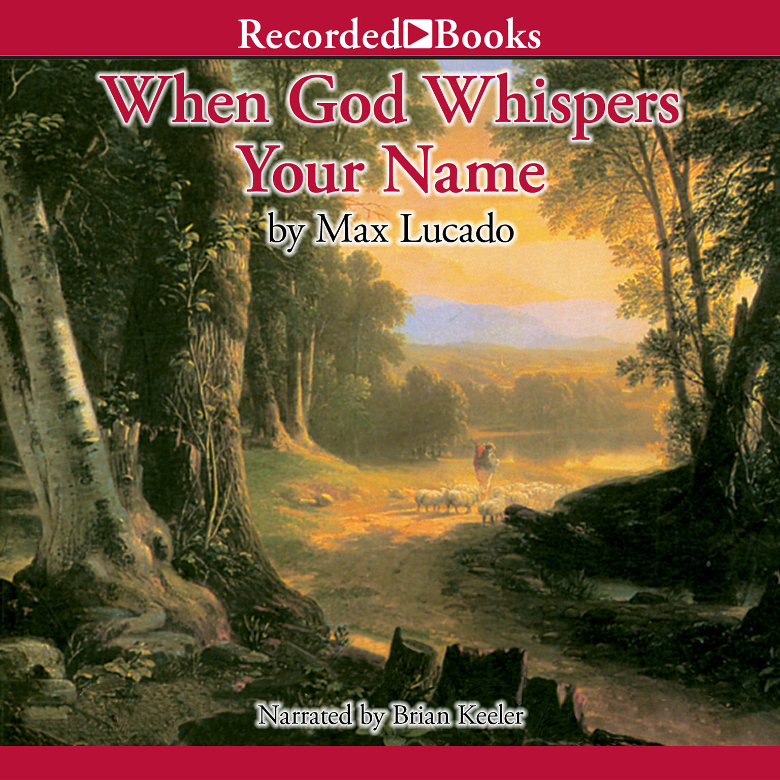 Printable When God Whispers Your Name Audiobook Cover Art