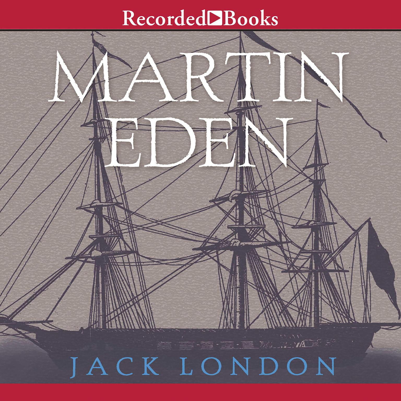 Printable Martin Eden Audiobook Cover Art