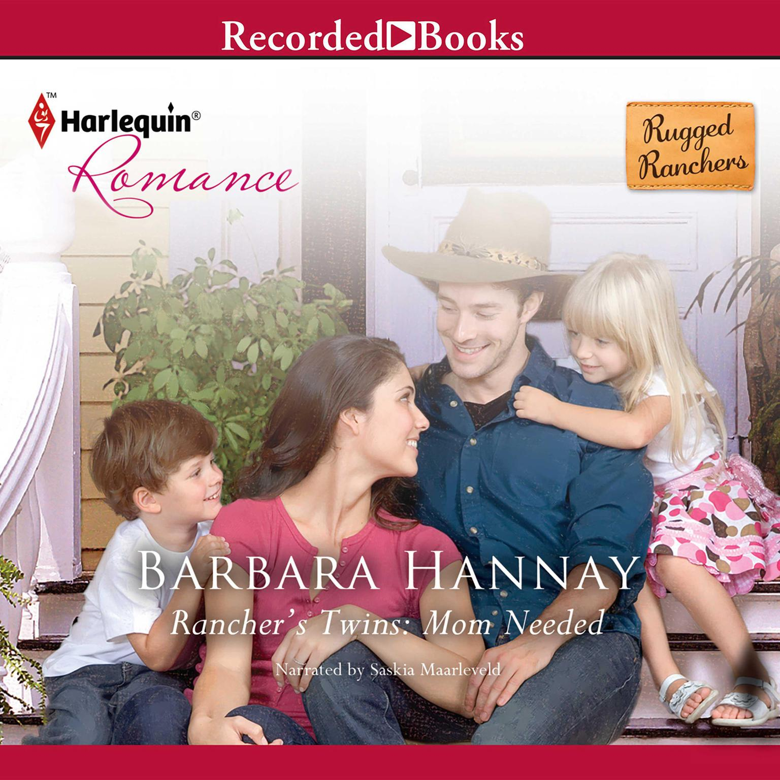 Printable Rancher's Twins: Mom Needed Audiobook Cover Art