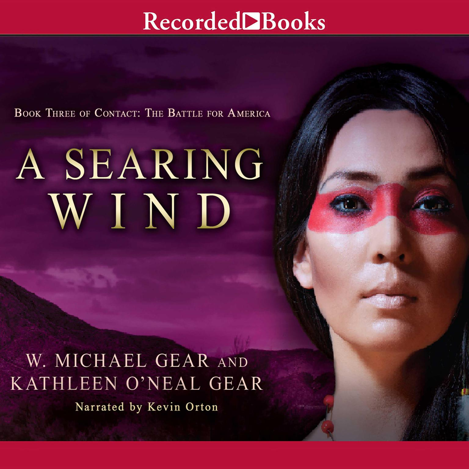 Printable A Searing Wind Audiobook Cover Art