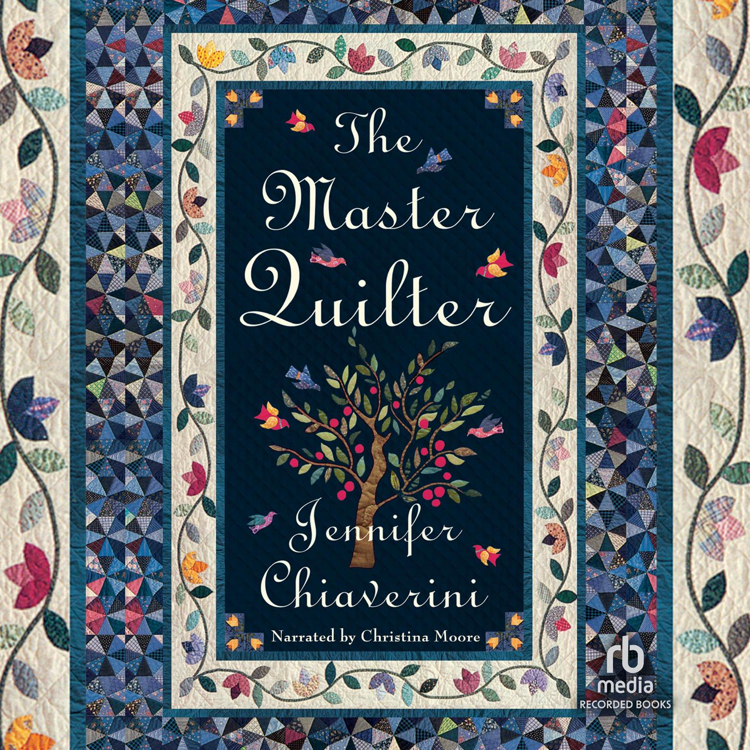 Printable The Master Quilter Audiobook Cover Art