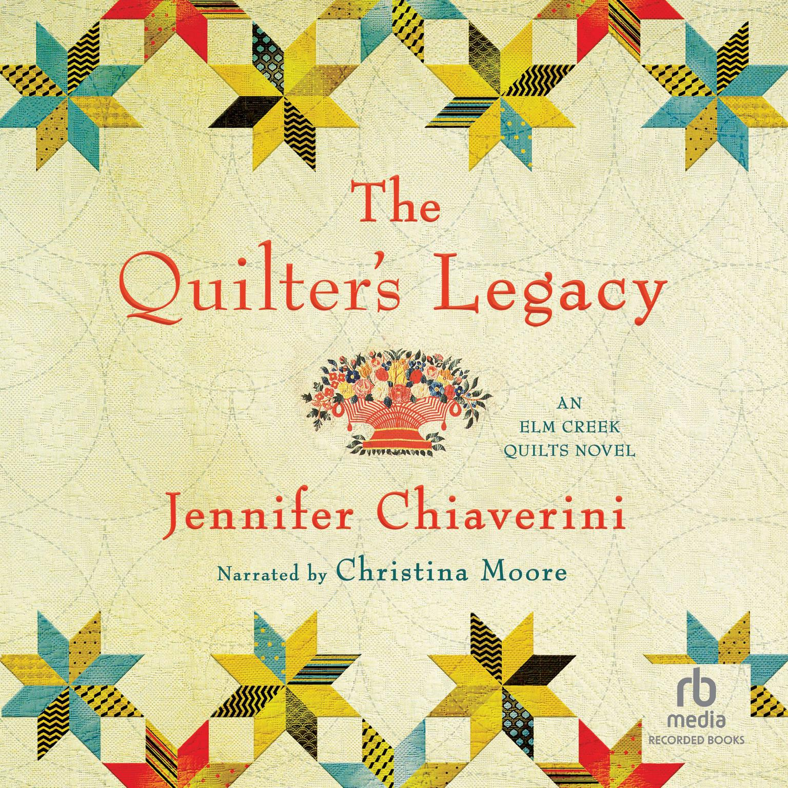 Printable The Quilter's Legacy Audiobook Cover Art