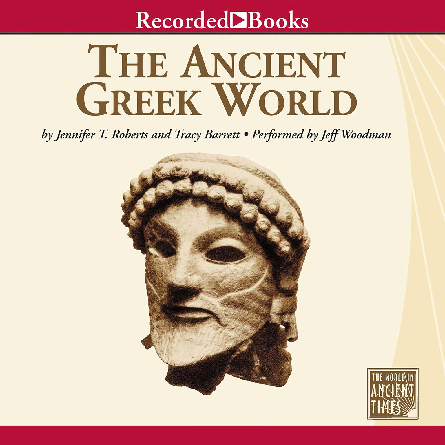 Printable The Ancient Greek World Audiobook Cover Art